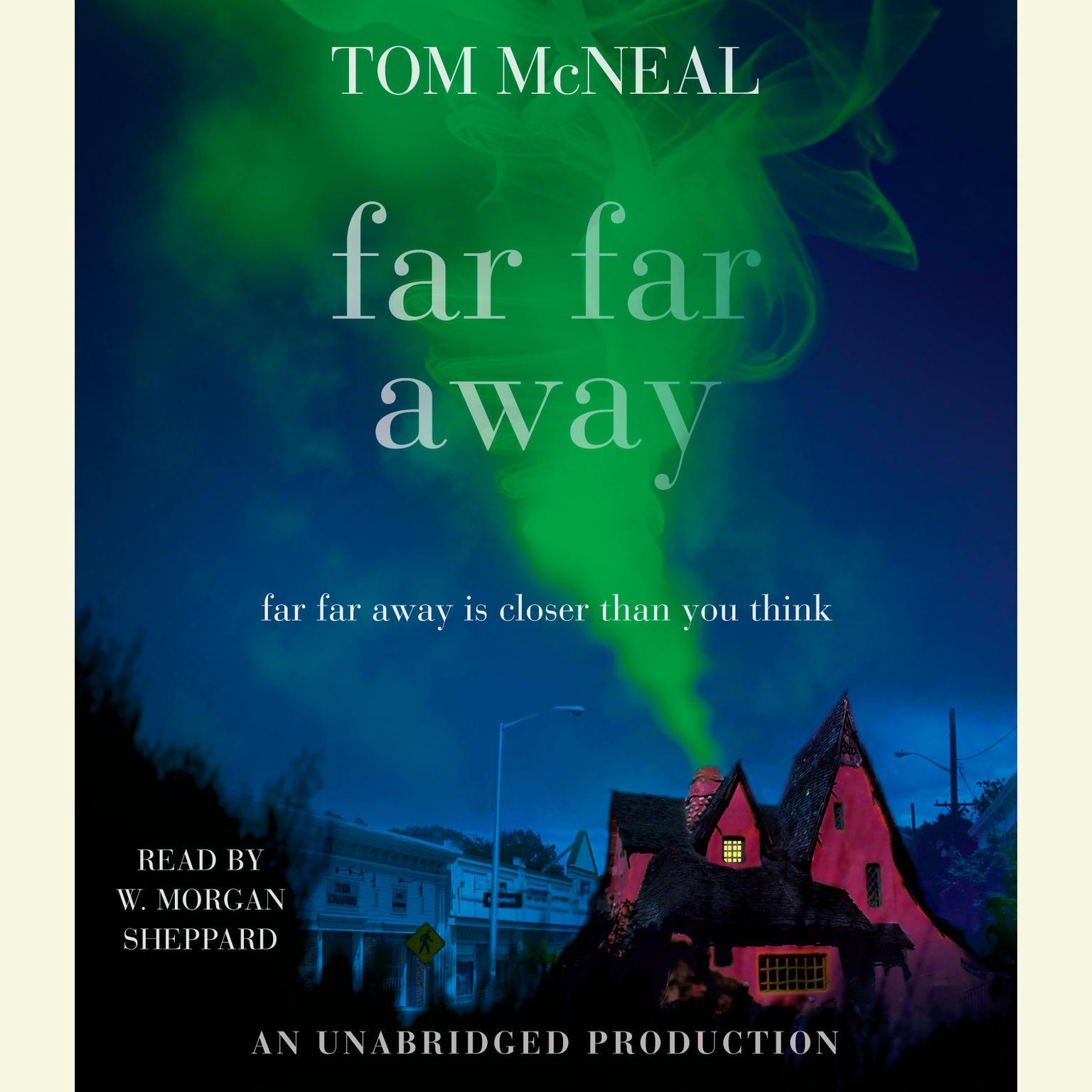 Printable Far Far Away Audiobook Cover Art
