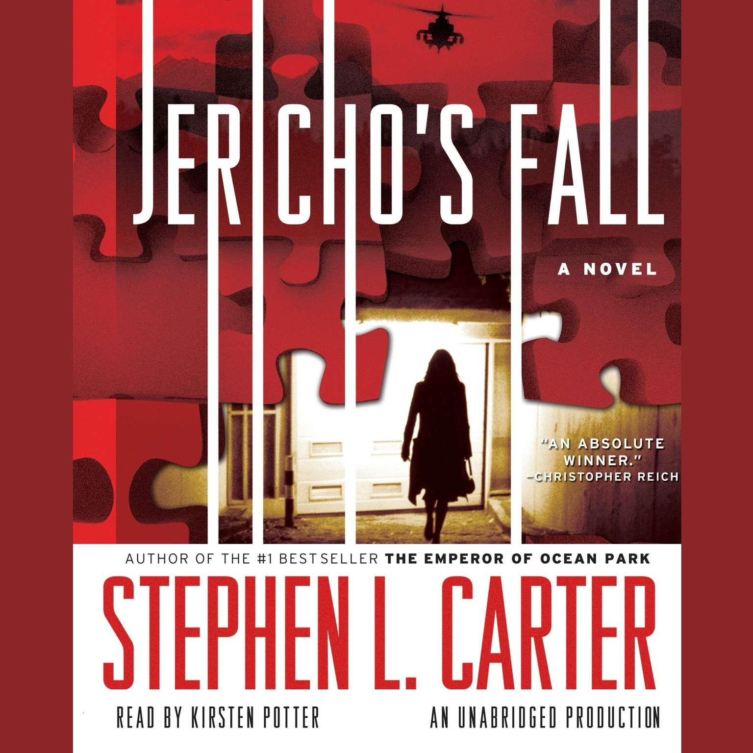 Printable Jericho's Fall Audiobook Cover Art