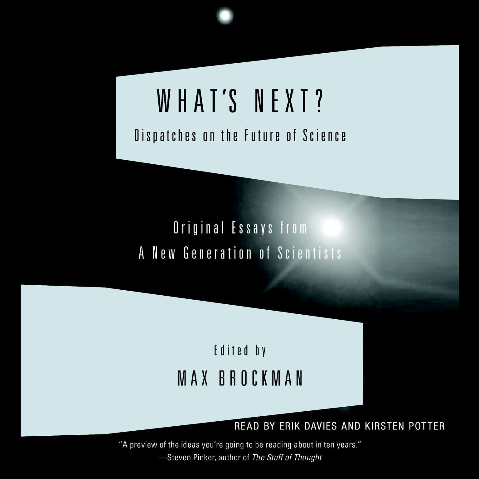 Printable What's Next: Dispatches on the Future of Science Audiobook Cover Art