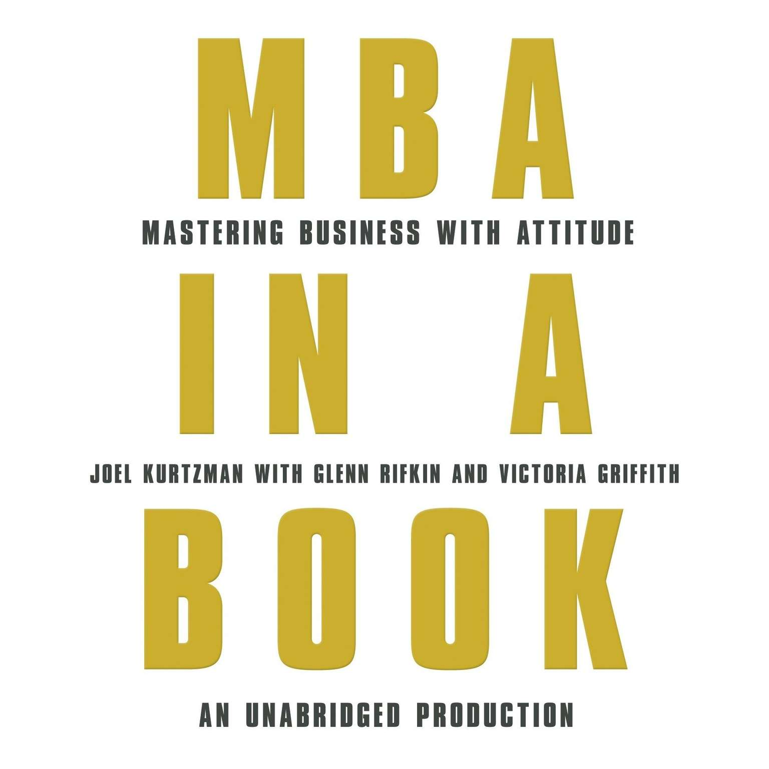 Printable MBA in a Book: Mastering Business with Attitude Audiobook Cover Art