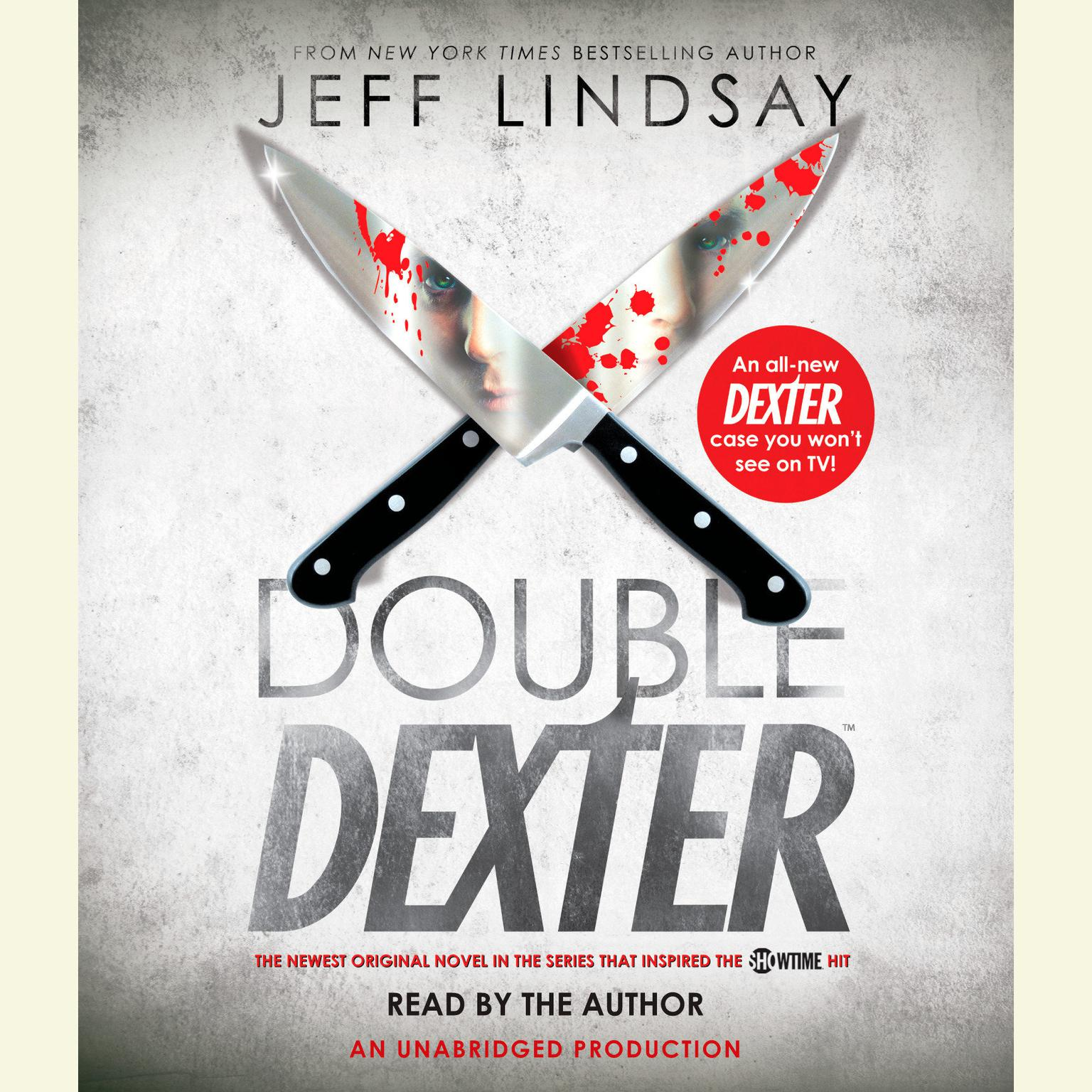 Printable Double Dexter: A Novel Audiobook Cover Art