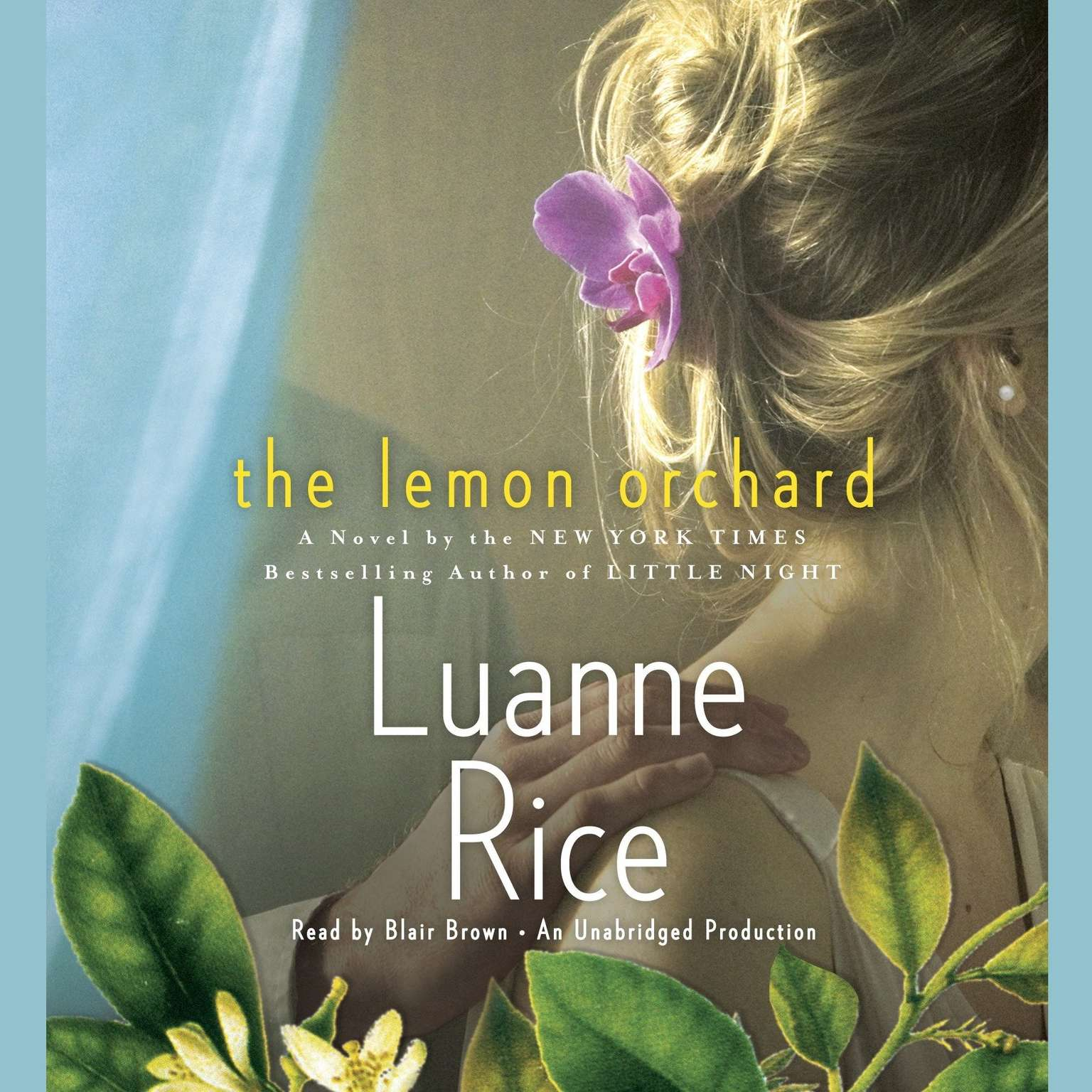 Printable The Lemon Orchard Audiobook Cover Art