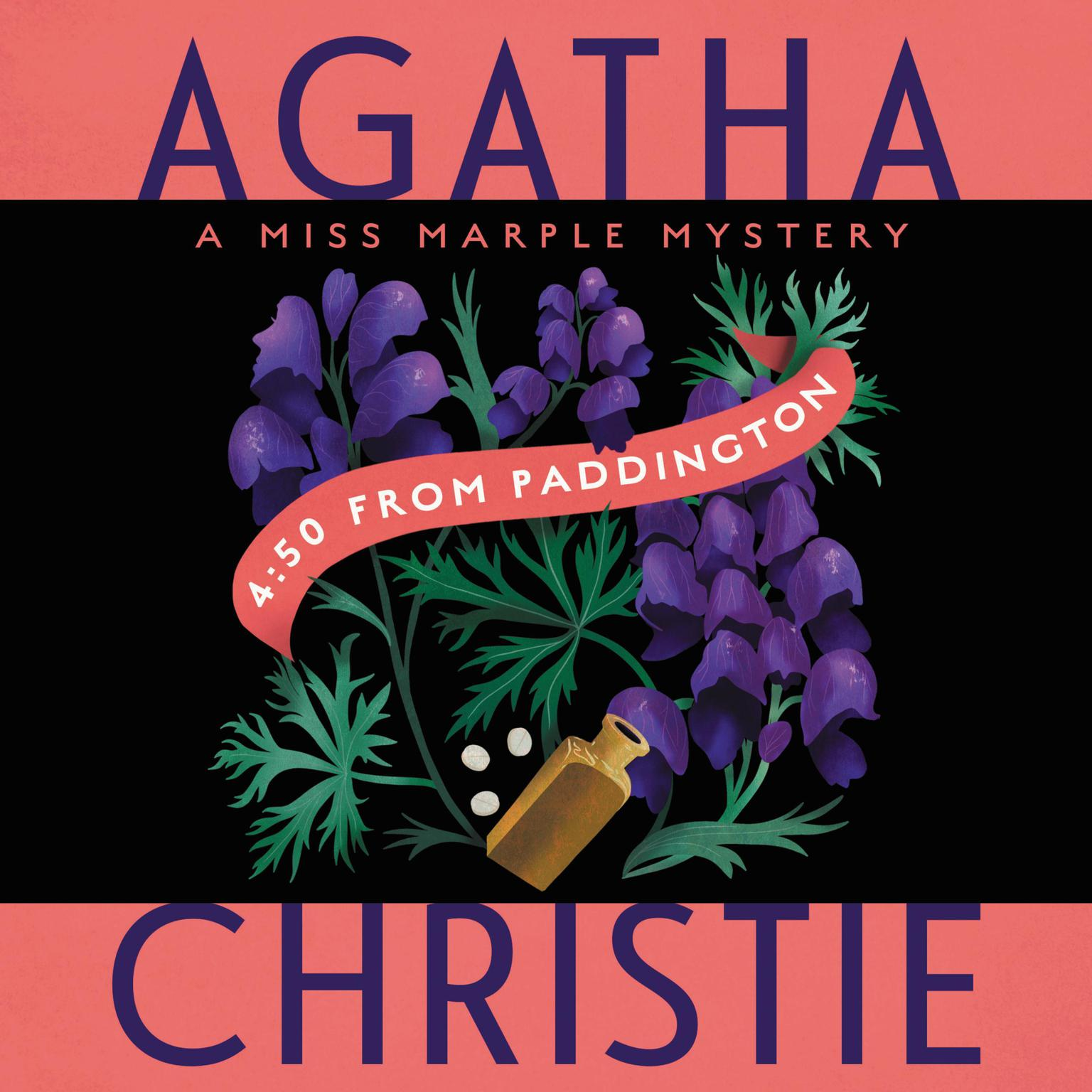 Printable 4:50 from Paddington Audiobook Cover Art