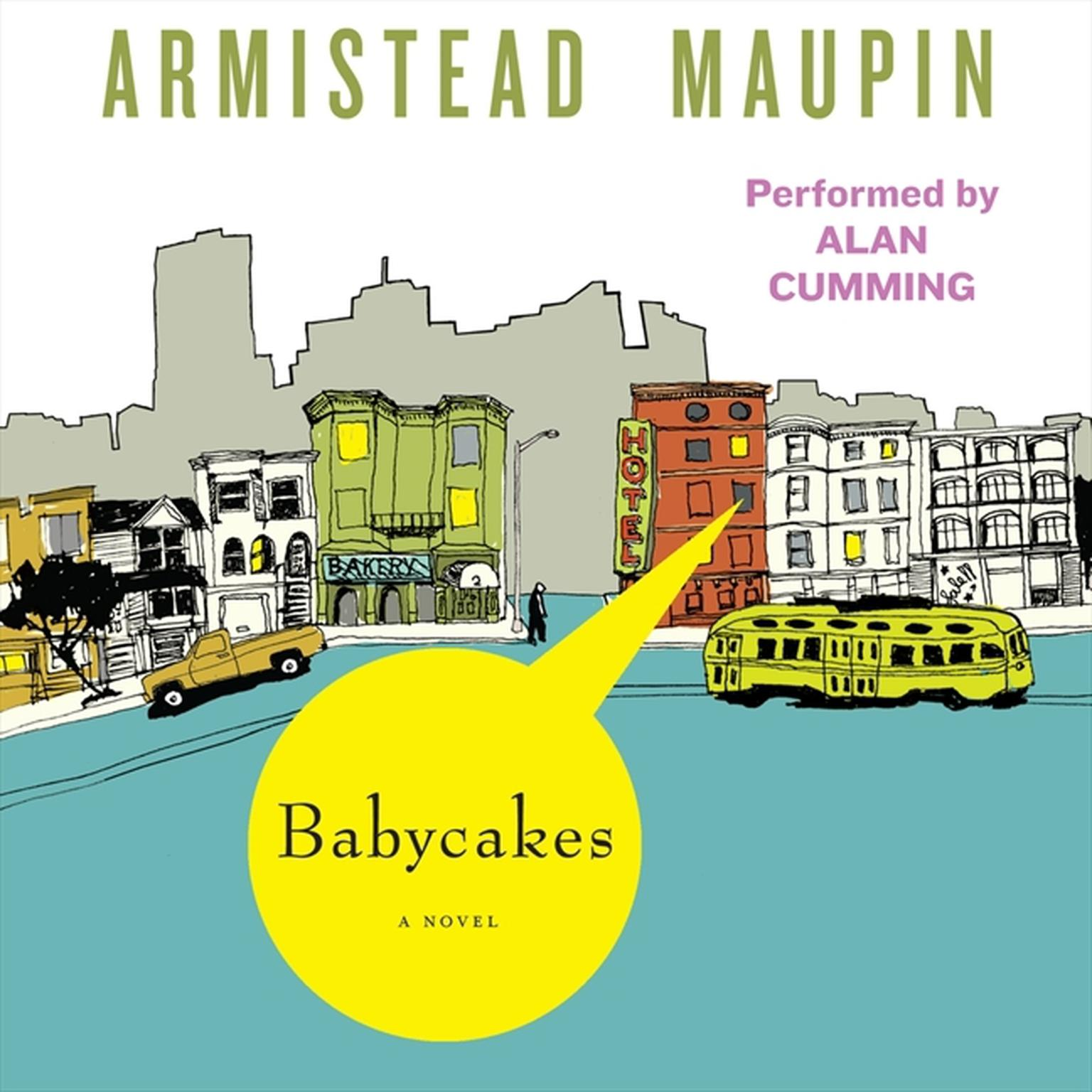 Printable Babycakes Audiobook Cover Art