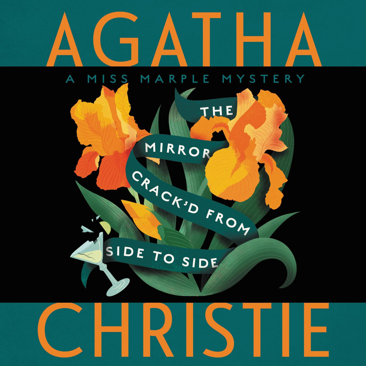 Printable The Mirror Crack'd from Side to Side: A Miss Marple Mystery Audiobook Cover Art