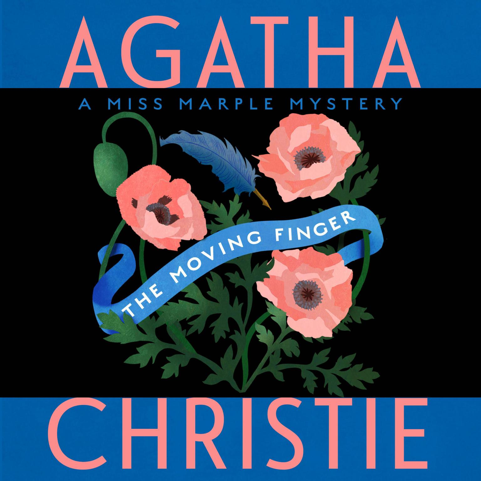 Printable The Moving Finger: A Miss Marple Mystery Audiobook Cover Art