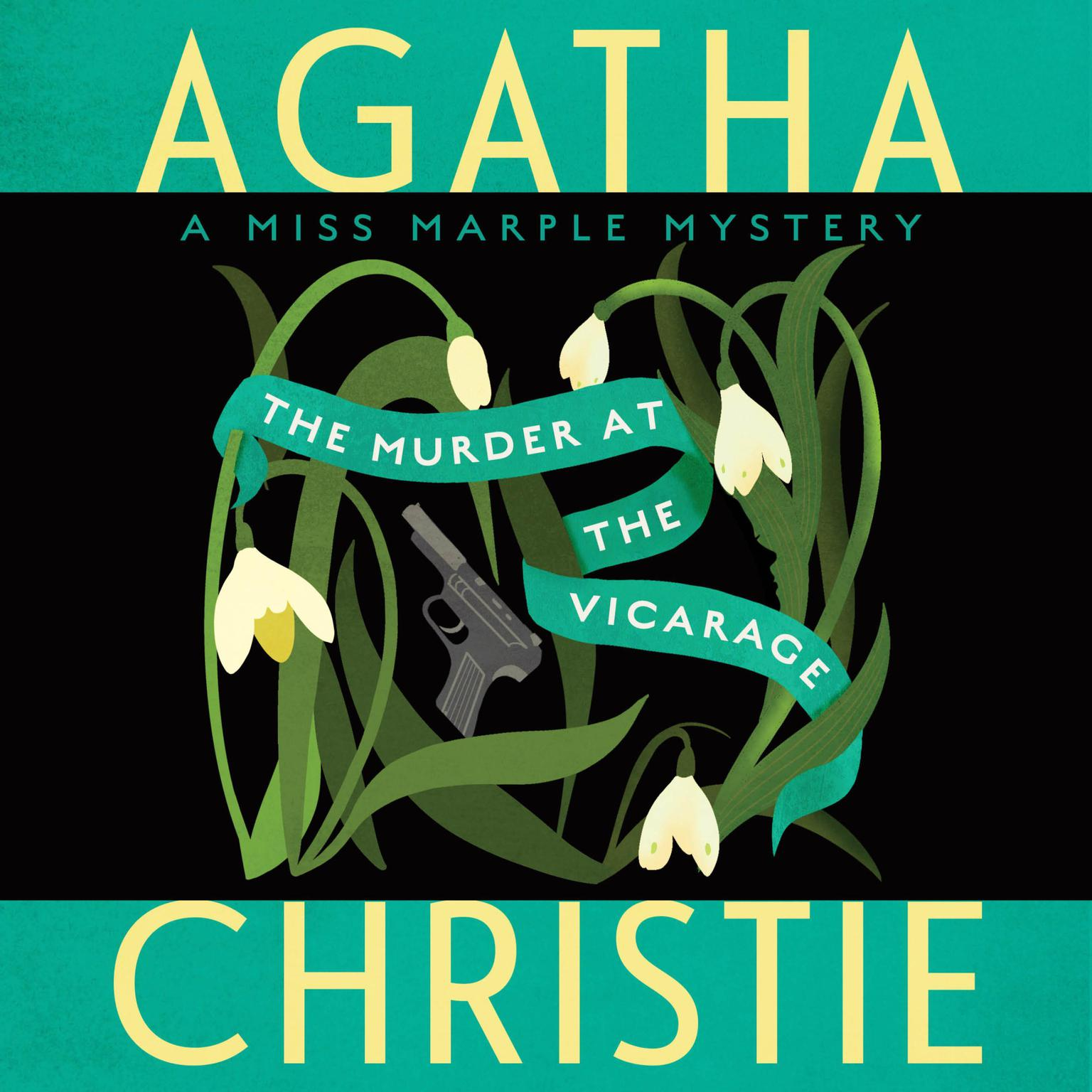 Printable The Murder at the Vicarage Audiobook Cover Art