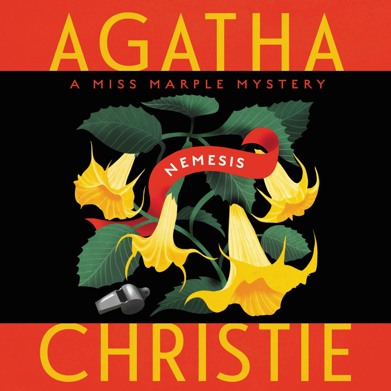Printable Nemesis: A Miss Marple Mystery Audiobook Cover Art