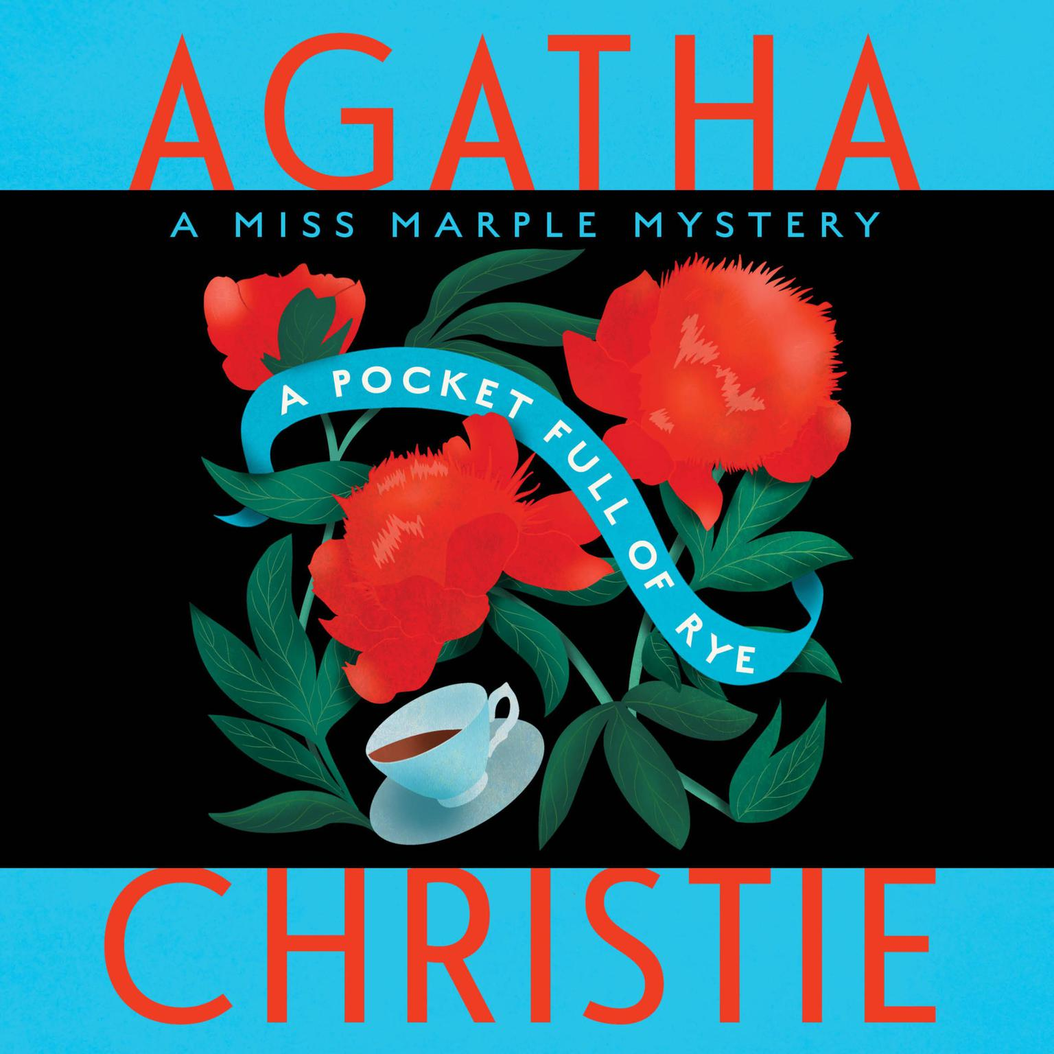 Printable A Pocket Full of Rye Audiobook Cover Art