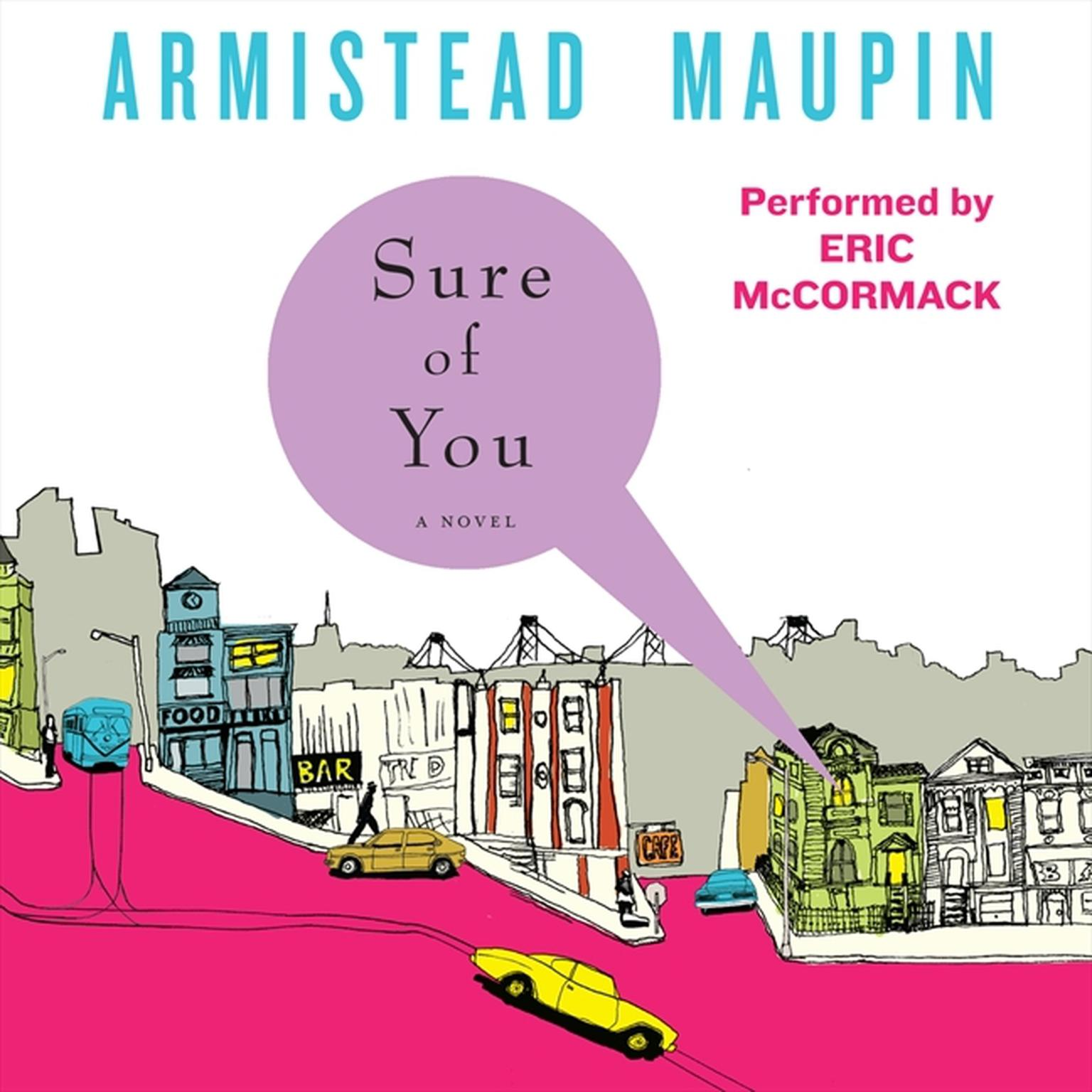 Printable Sure of You Audiobook Cover Art