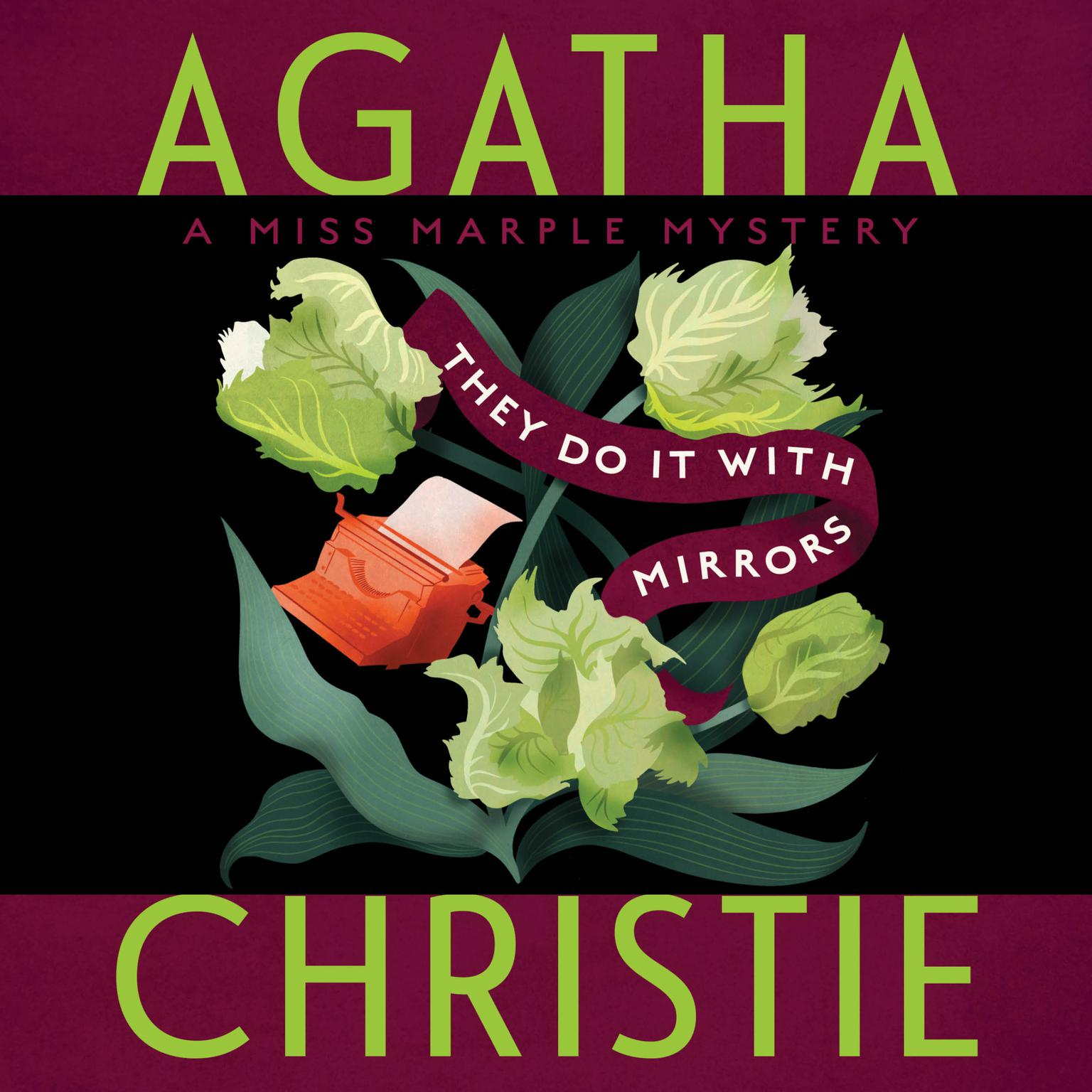 Printable They Do It with Mirrors: A Miss Marple Mystery Audiobook Cover Art