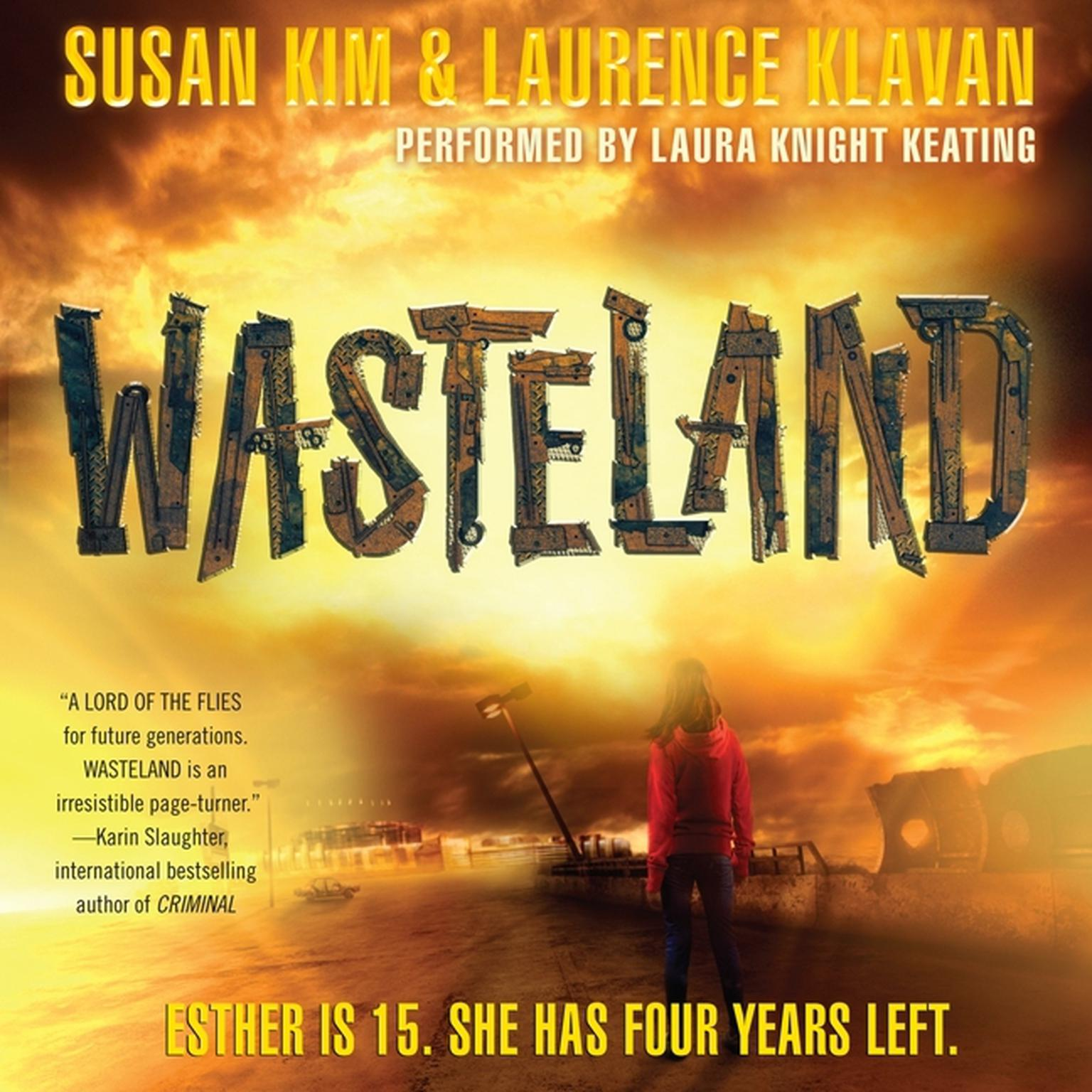 Printable Wasteland Audiobook Cover Art