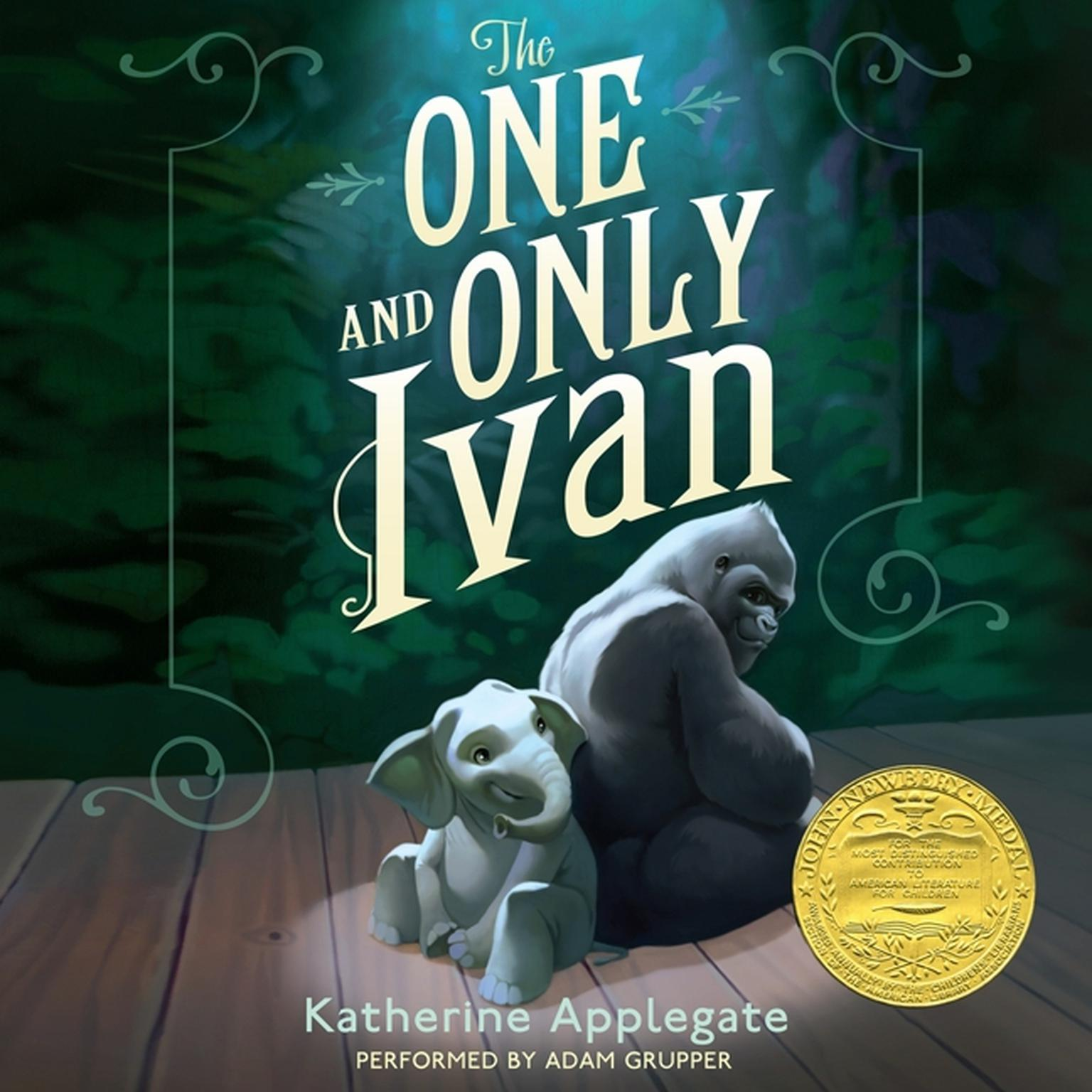 Printable The One and Only Ivan Audiobook Cover Art