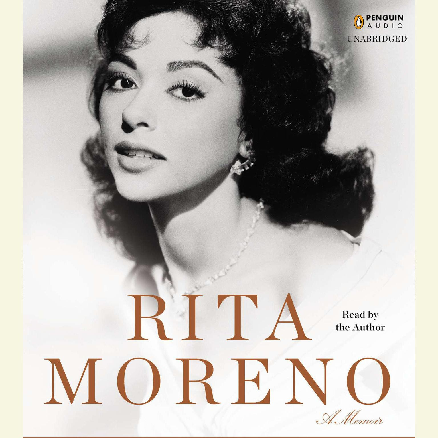 Printable Rita Moreno: A Memoir Audiobook Cover Art