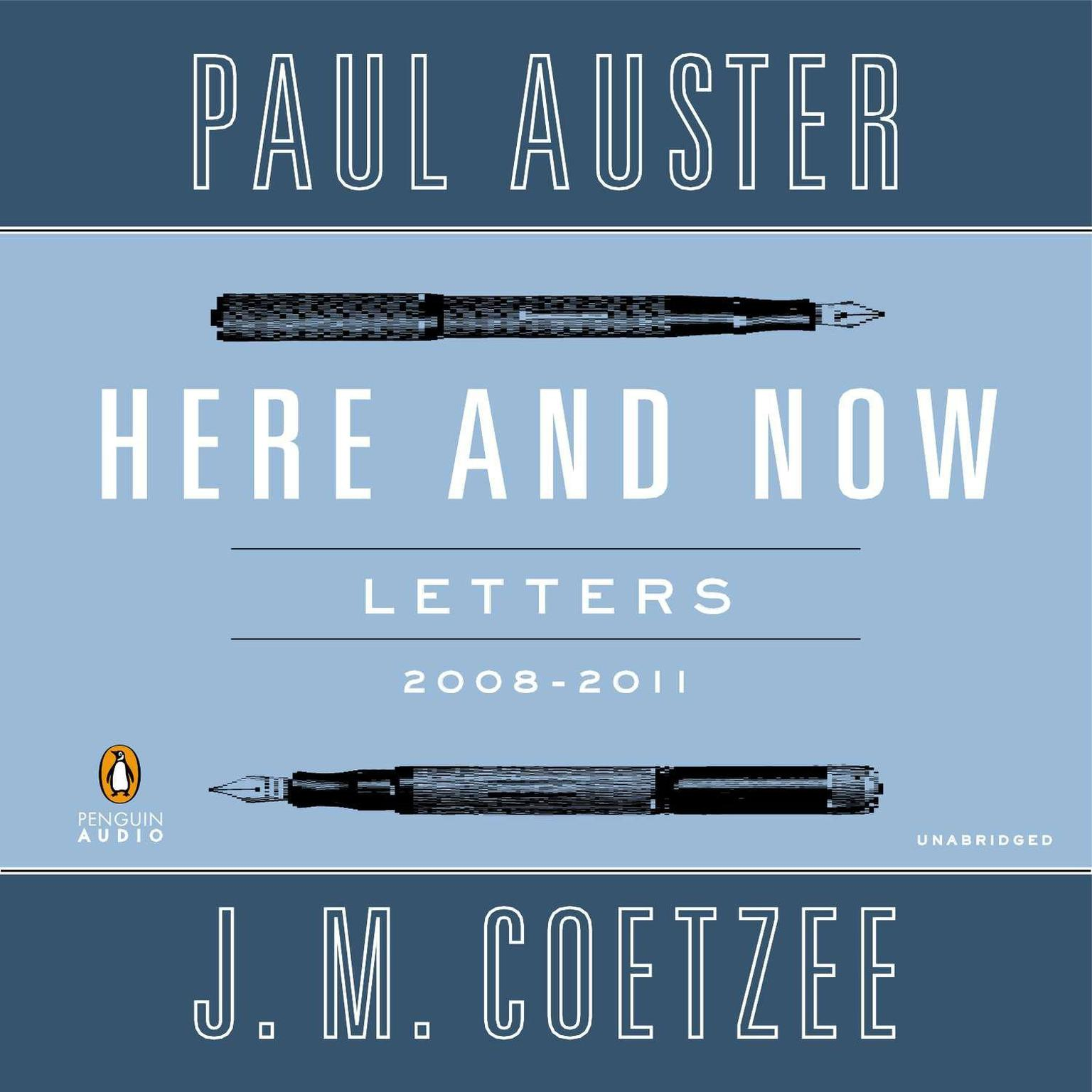 Printable Here and Now: Letters (2008–2011) Audiobook Cover Art