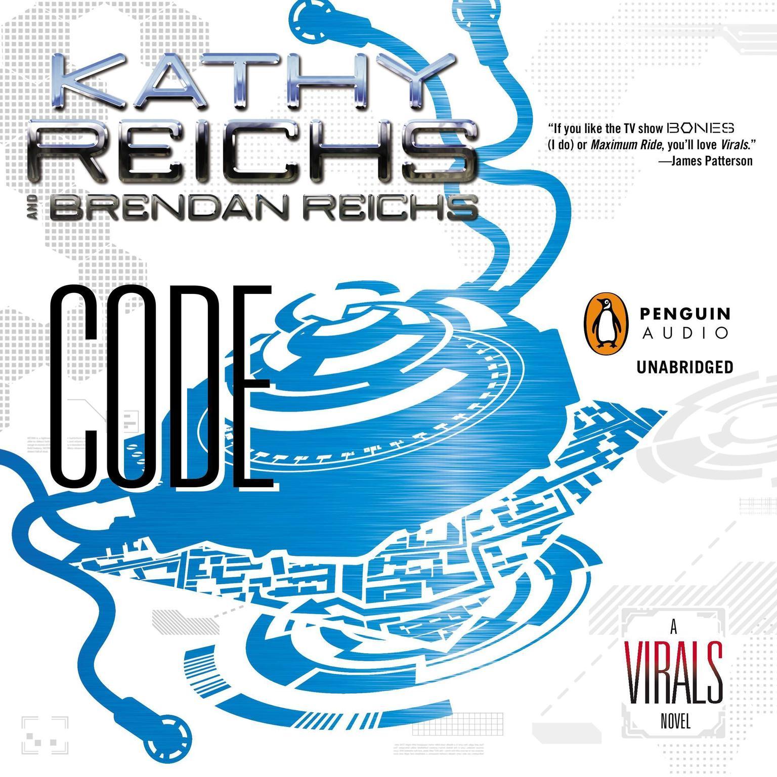 Printable Code: A Virals Novel Audiobook Cover Art