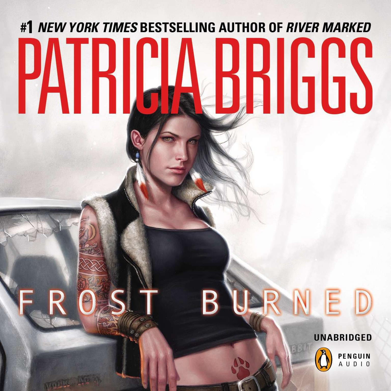 Printable Frost Burned Audiobook Cover Art