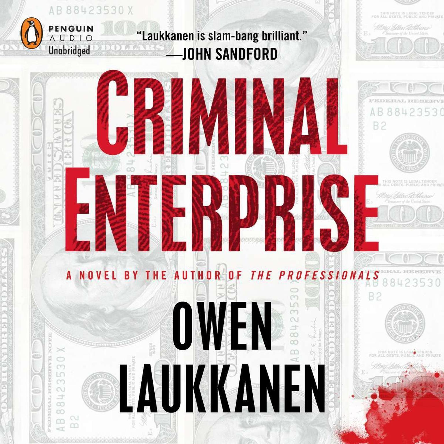 Printable Criminal Enterprise Audiobook Cover Art