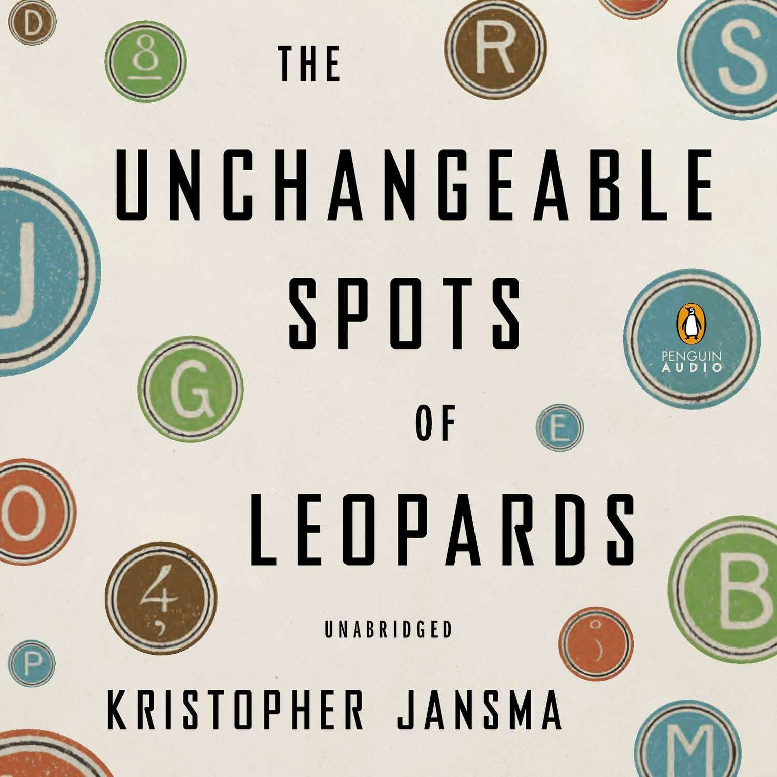 Printable The Unchangeable Spots of Leopards Audiobook Cover Art