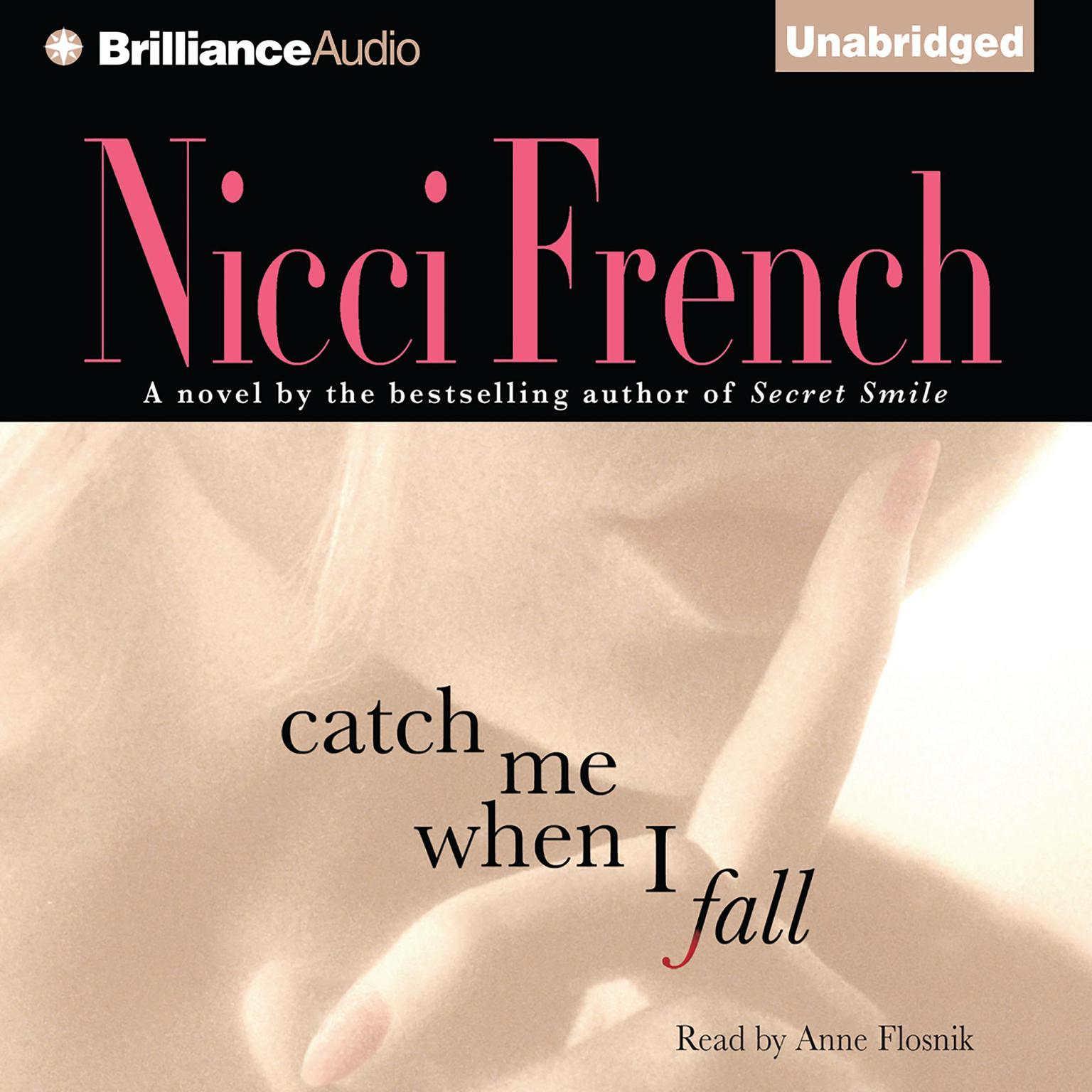 Printable Catch Me When I Fall Audiobook Cover Art