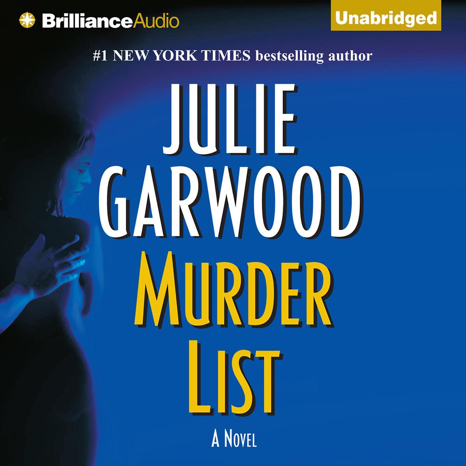 Printable Murder List Audiobook Cover Art