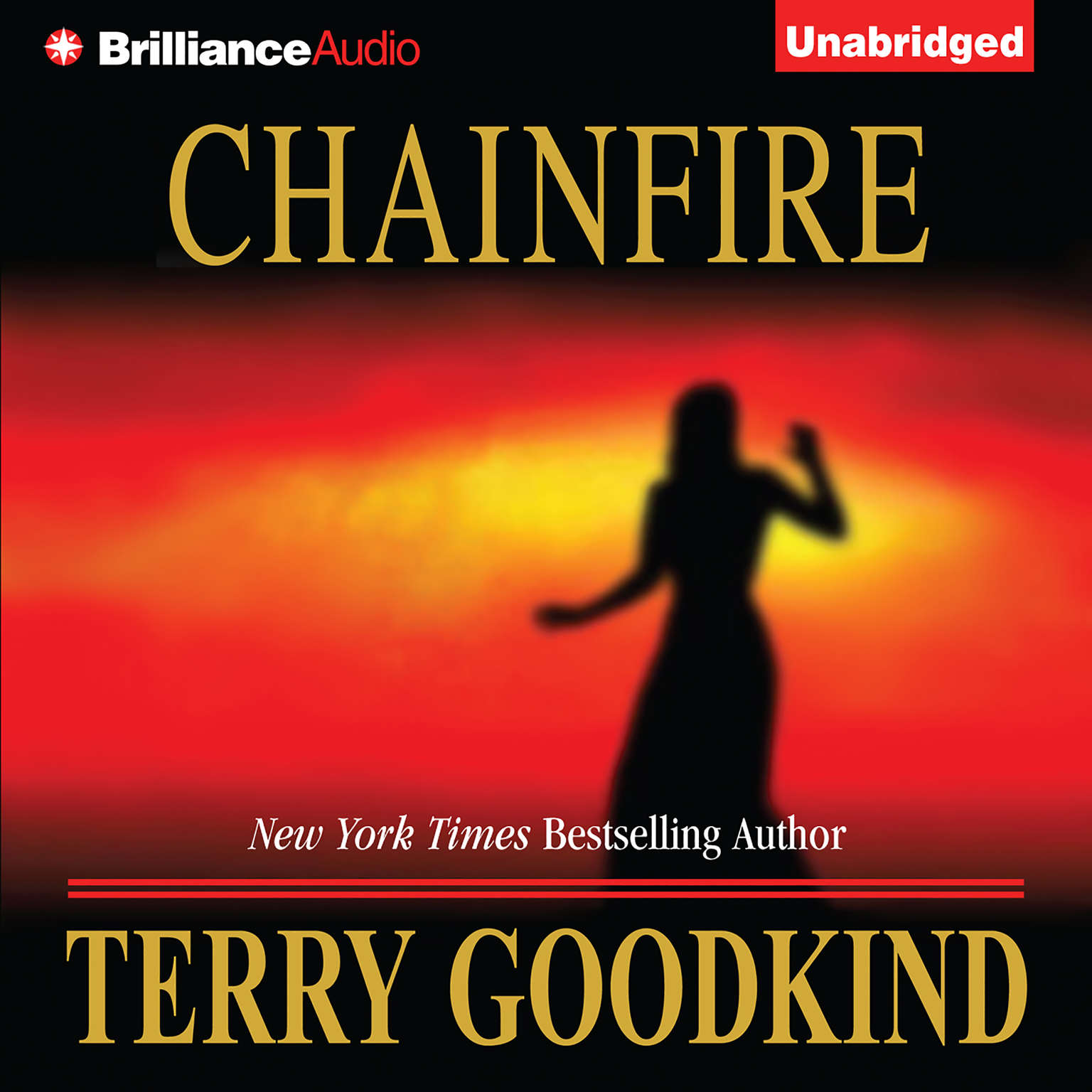 Printable Chainfire Audiobook Cover Art