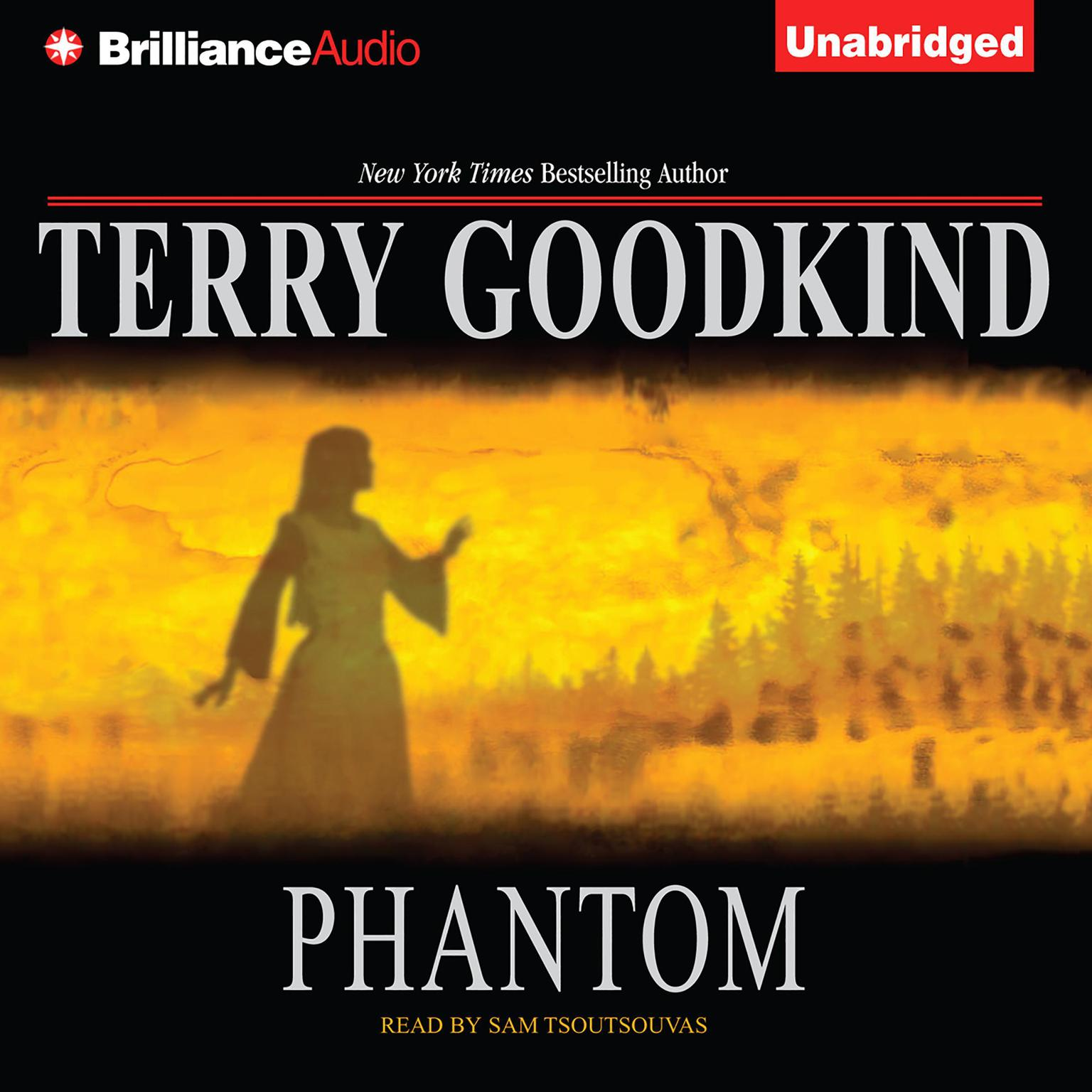 Printable Phantom Audiobook Cover Art