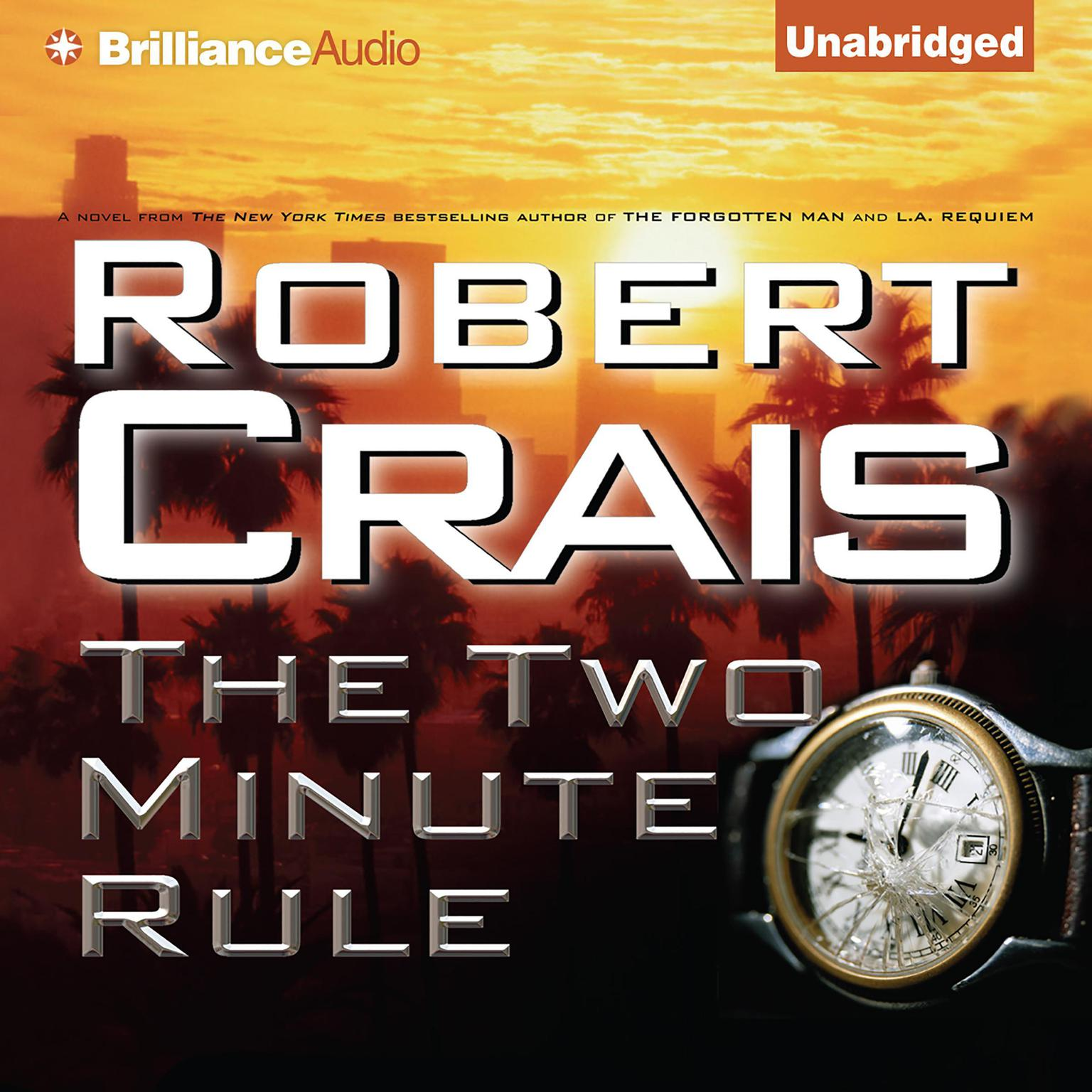 Printable The Two Minute Rule Audiobook Cover Art