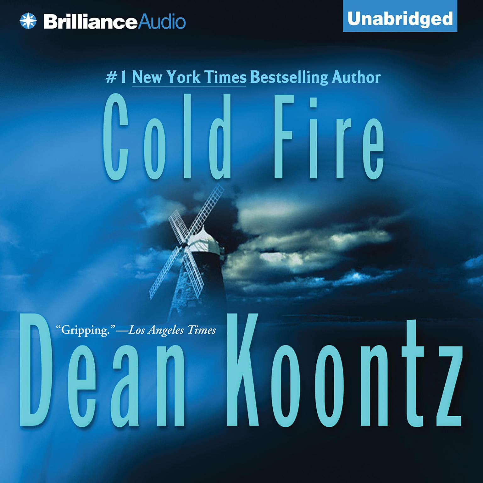 Printable Cold Fire Audiobook Cover Art