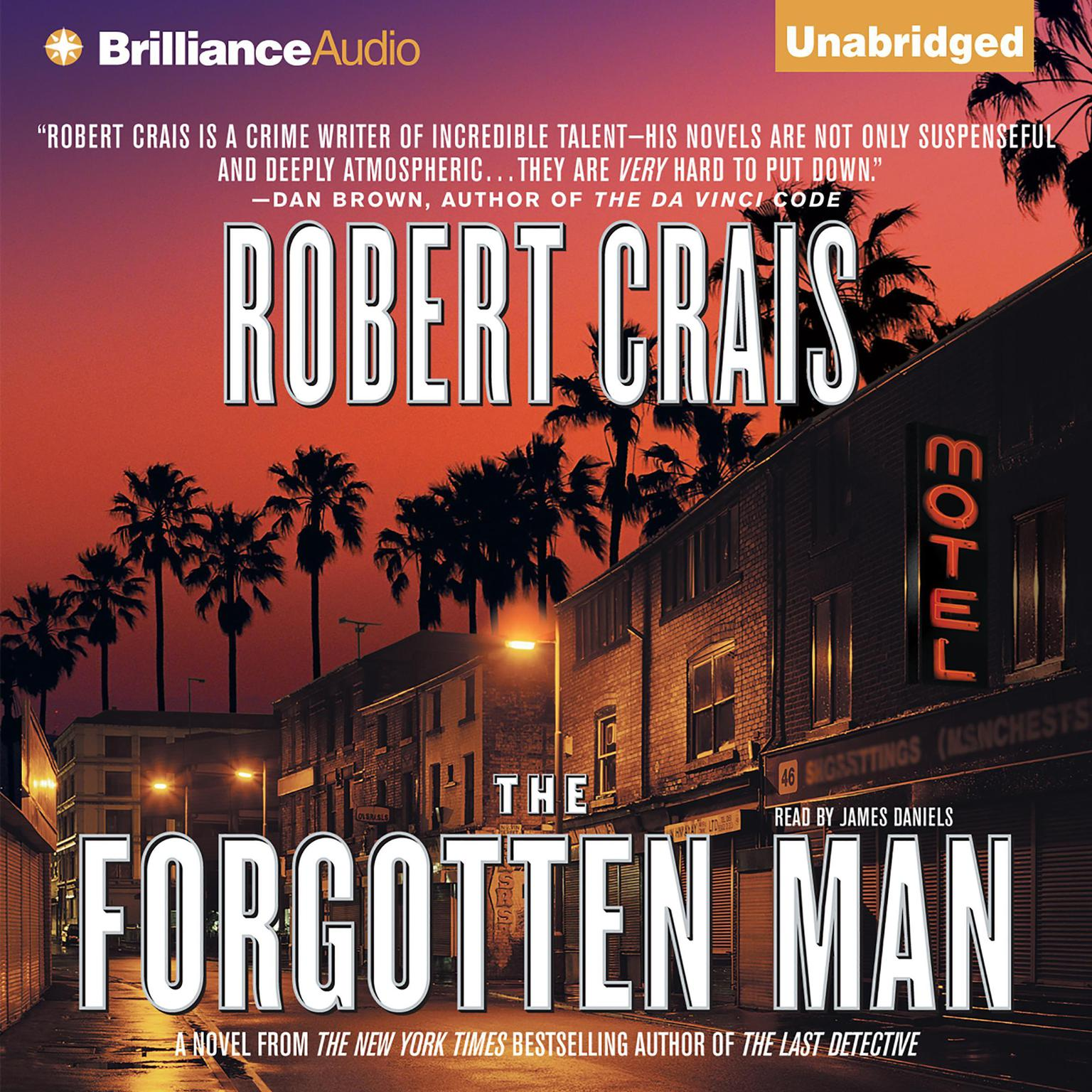 Printable The Forgotten Man Audiobook Cover Art