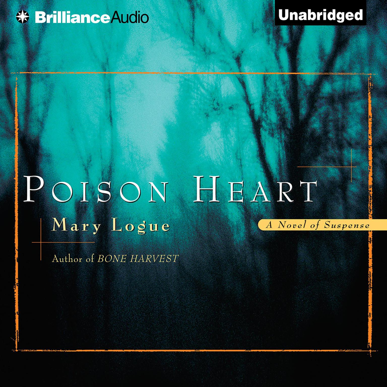 Printable Poison Heart Audiobook Cover Art