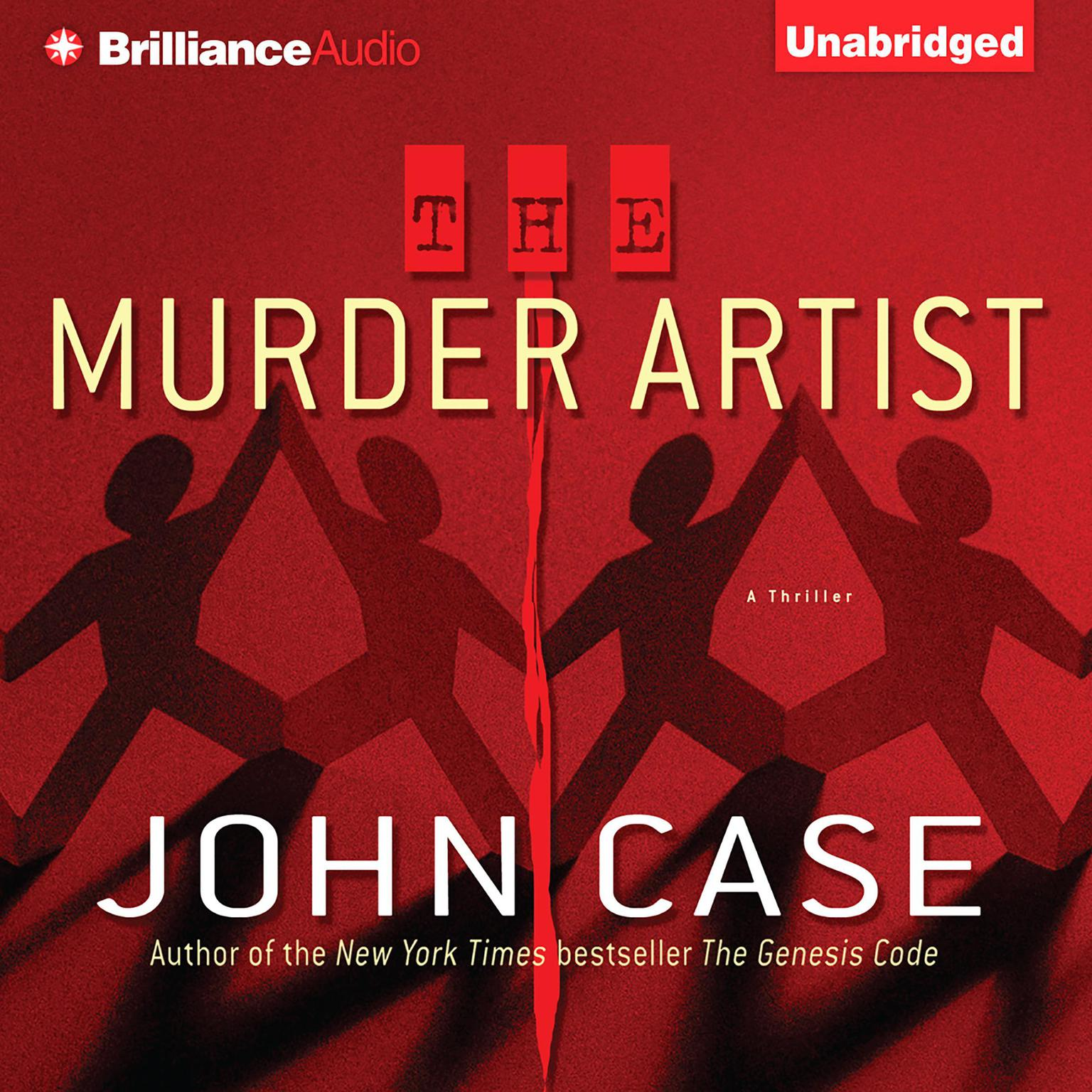Printable The Murder Artist Audiobook Cover Art