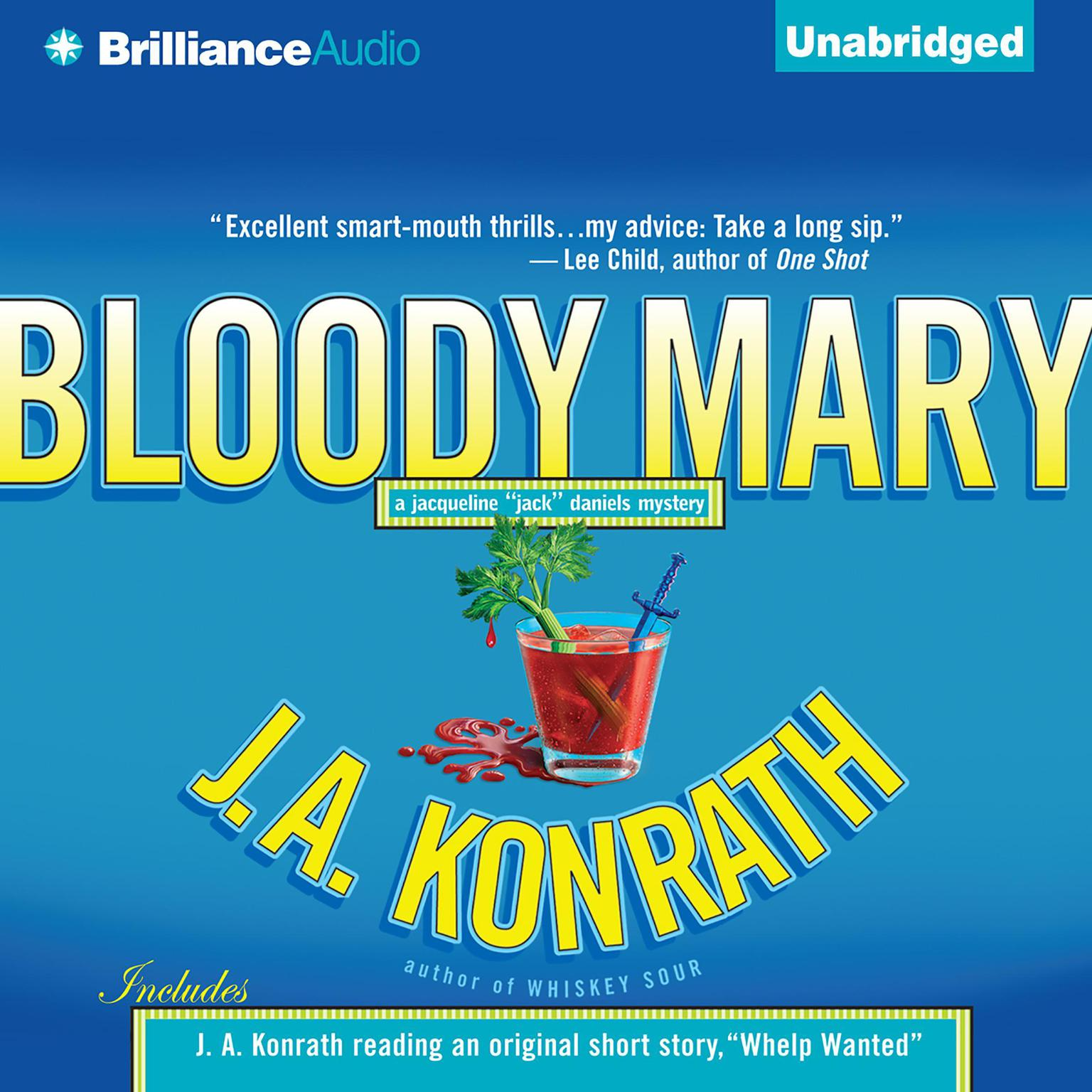 Printable Bloody Mary Audiobook Cover Art