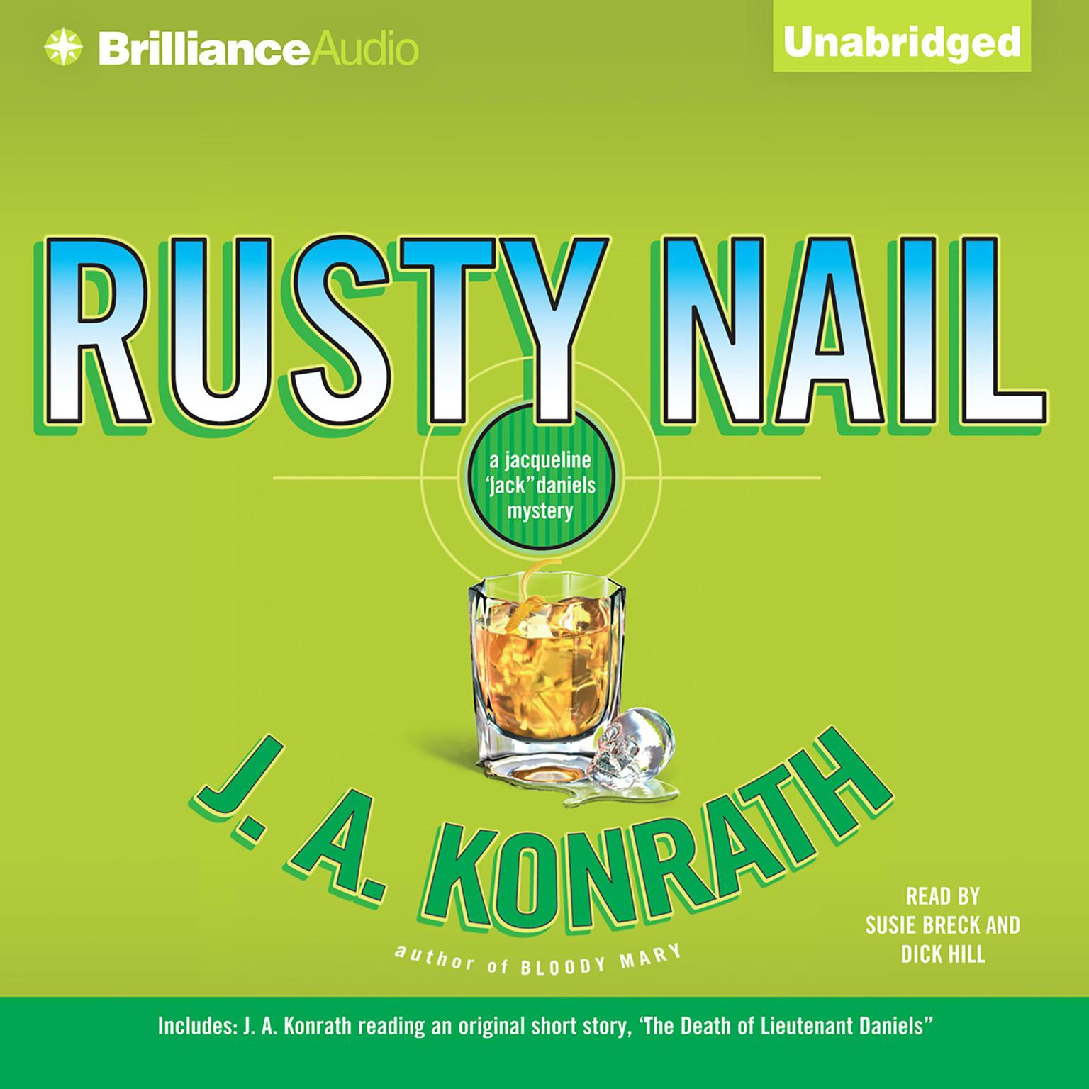 Printable Rusty Nail: A Jacqueline 'Jack' Daniels Mystery Audiobook Cover Art