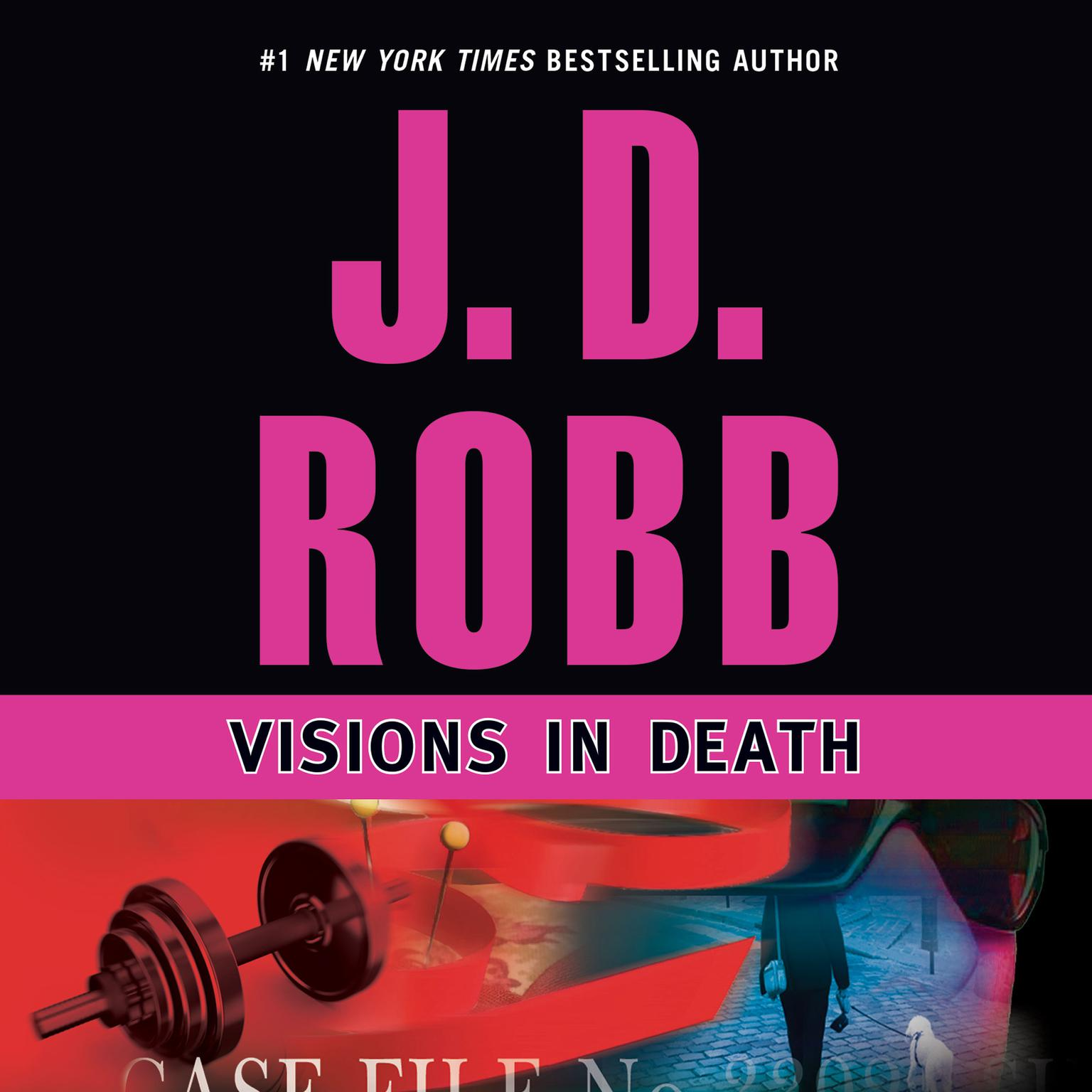 Printable Visions in Death Audiobook Cover Art
