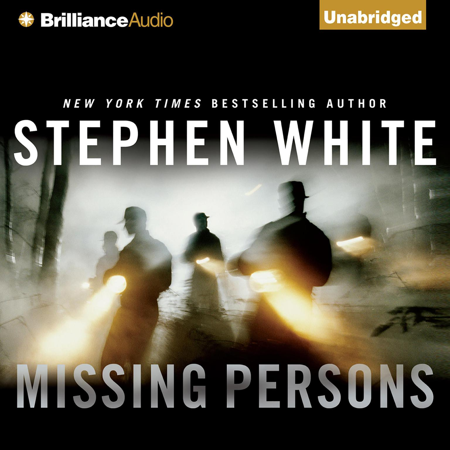 Printable Missing Persons Audiobook Cover Art