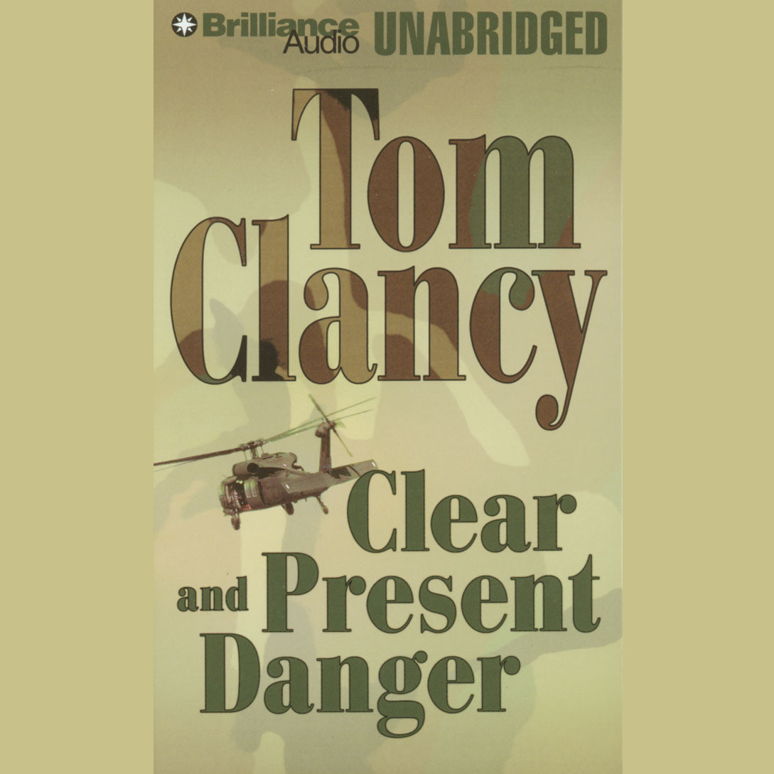Printable Clear and Present Danger Audiobook Cover Art