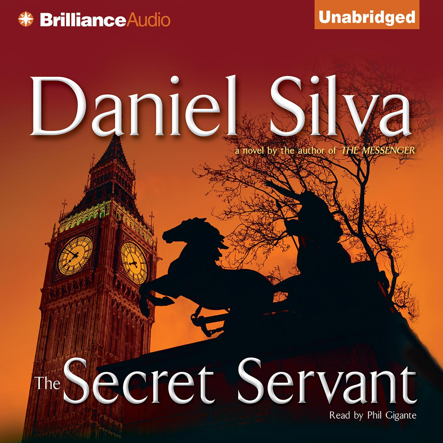Printable The Secret Servant Audiobook Cover Art