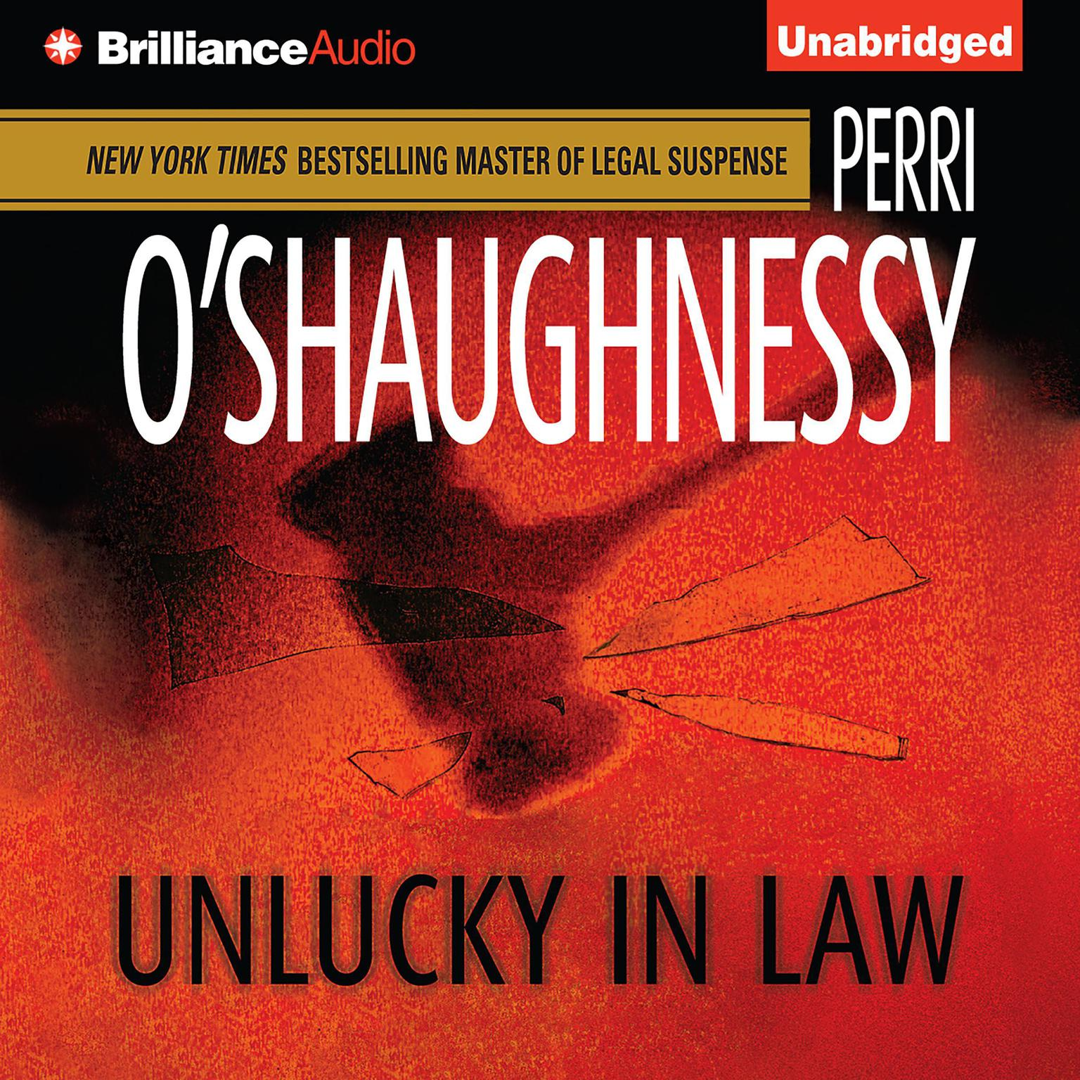 Printable Unlucky in Law Audiobook Cover Art