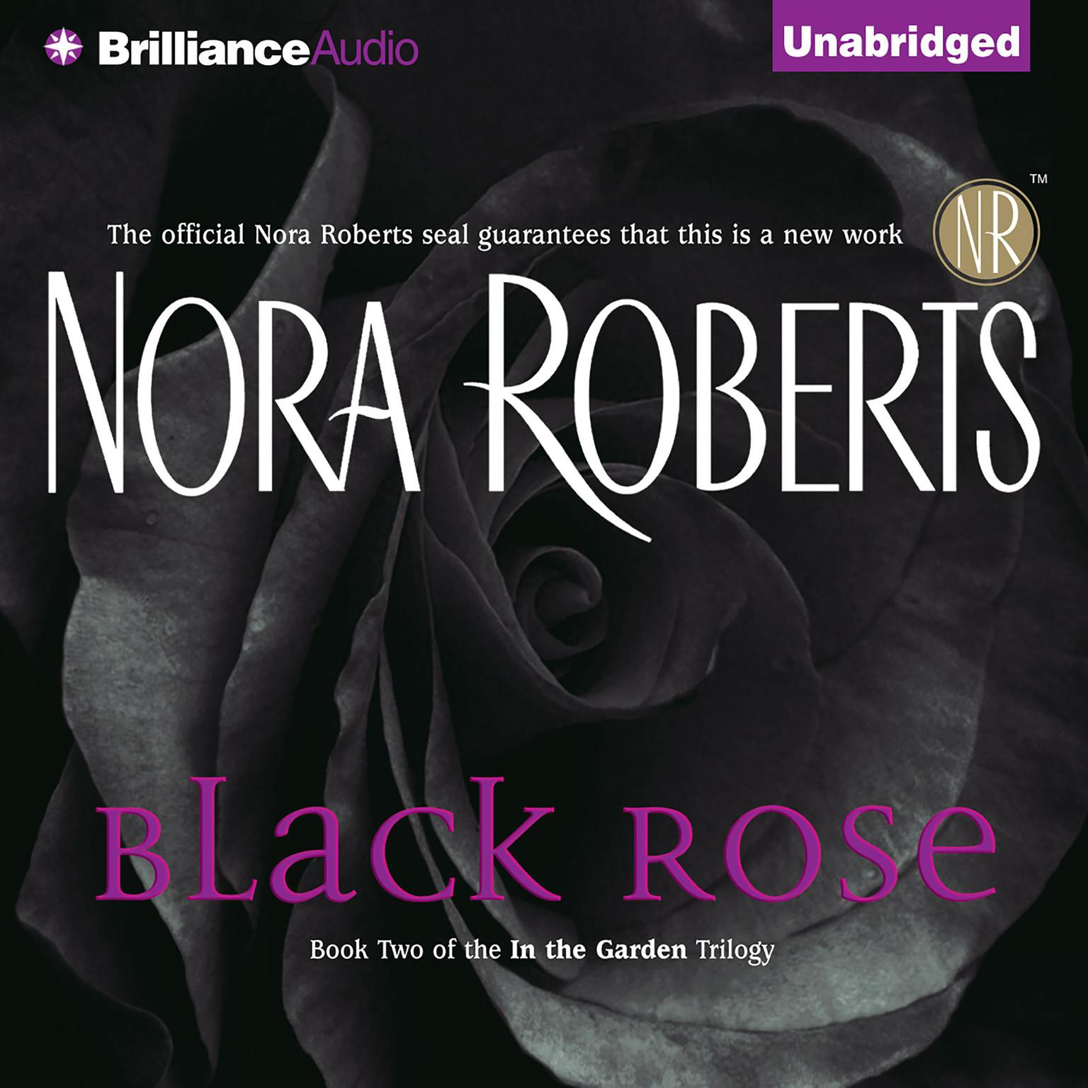 Printable Black Rose Audiobook Cover Art