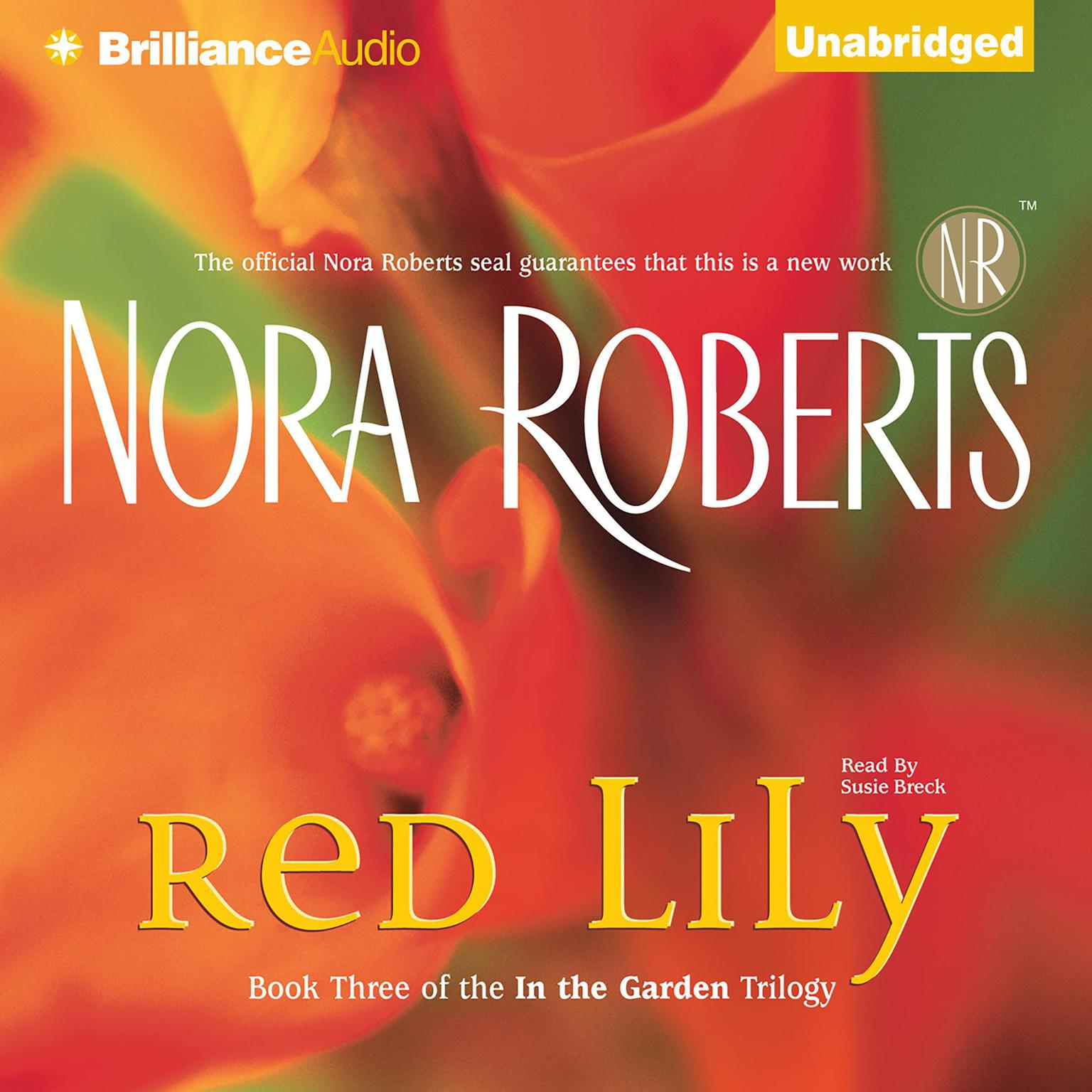 Printable Red Lily Audiobook Cover Art
