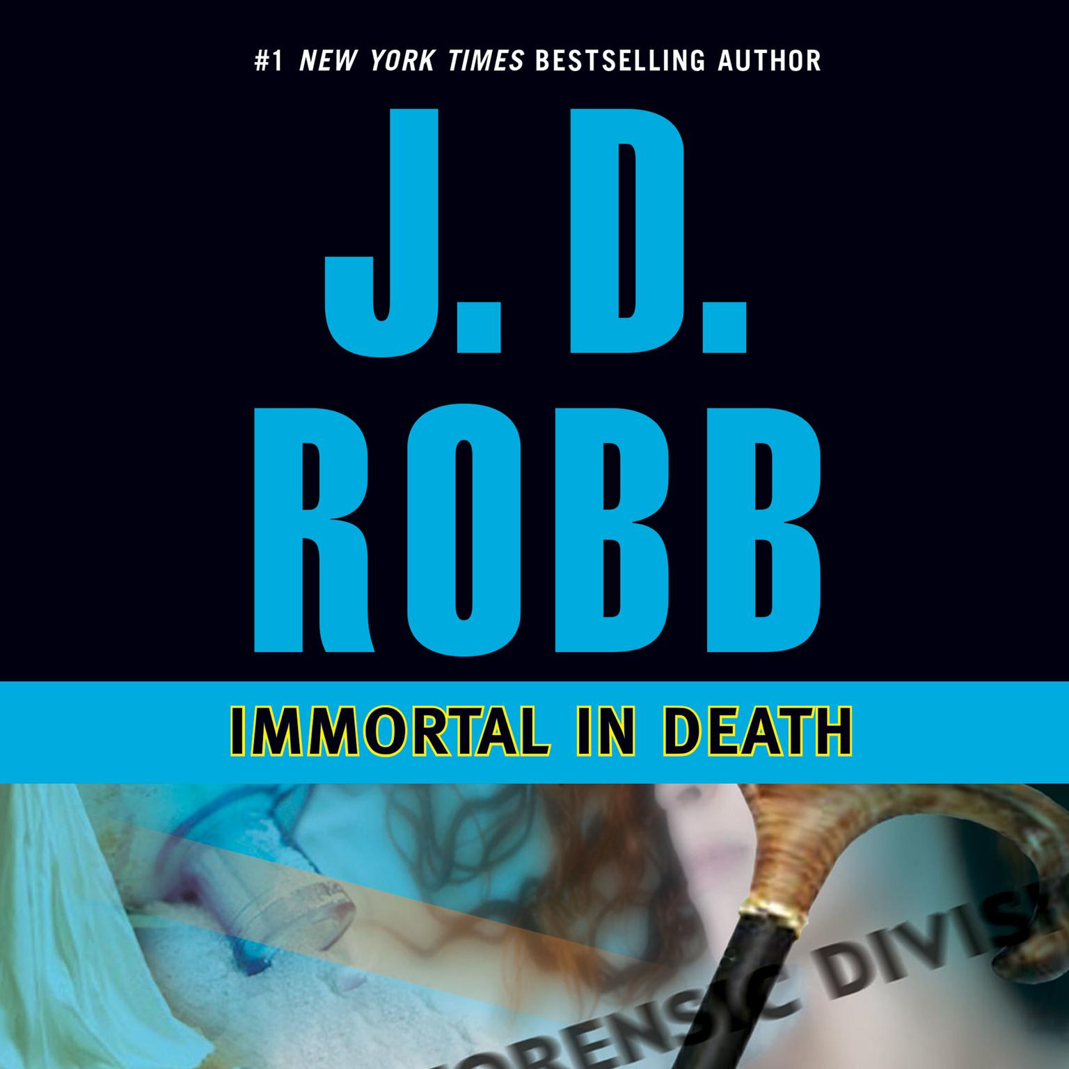 Printable Immortal in Death Audiobook Cover Art