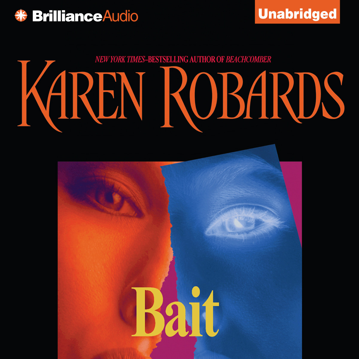 Printable Bait Audiobook Cover Art