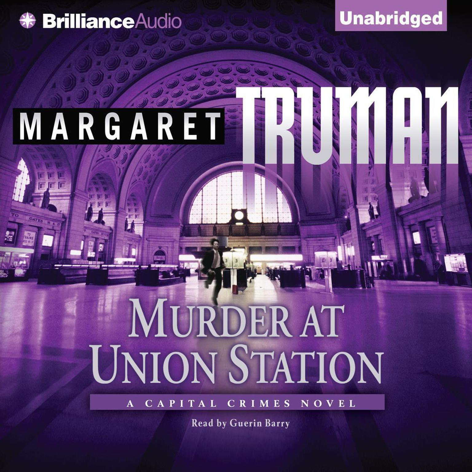 Printable Murder at Union Station Audiobook Cover Art