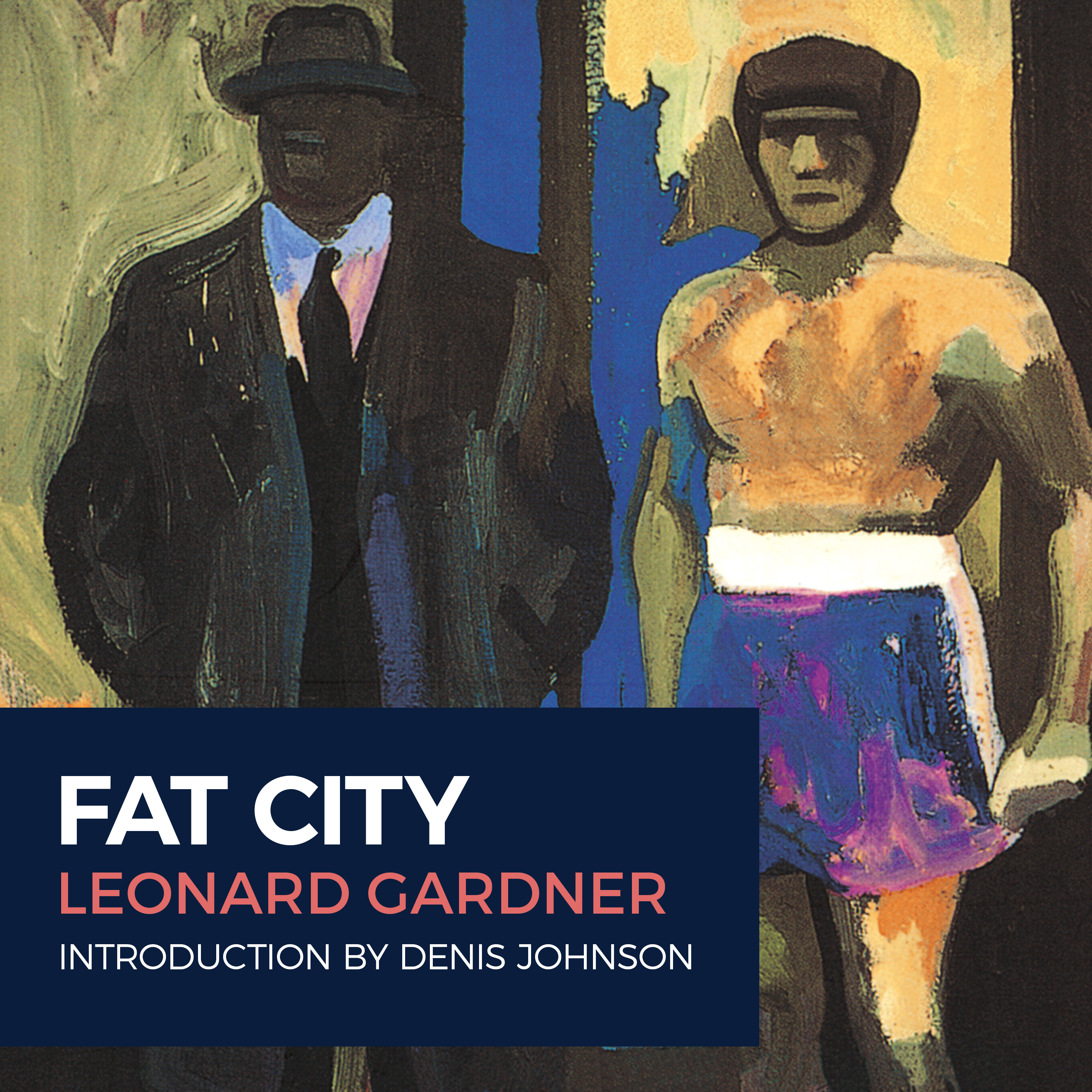 Printable Fat City Audiobook Cover Art