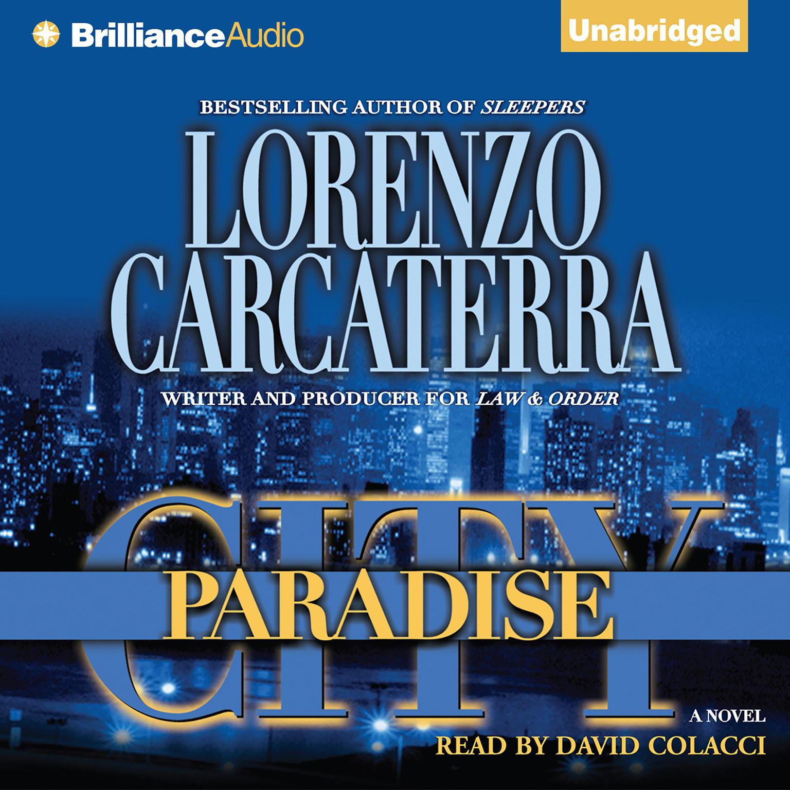 Printable Paradise City Audiobook Cover Art