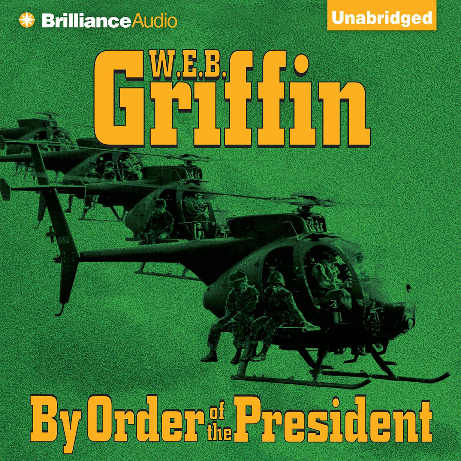 Printable By Order of the President Audiobook Cover Art