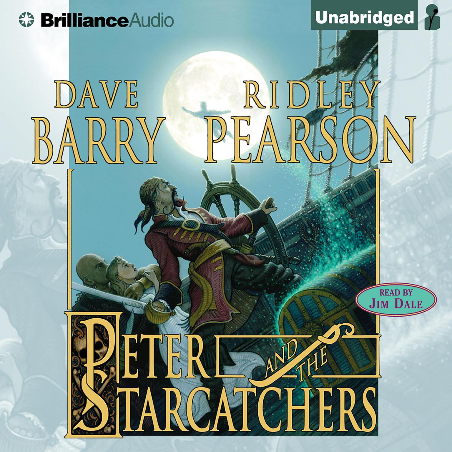 Printable Peter and the Starcatchers Audiobook Cover Art