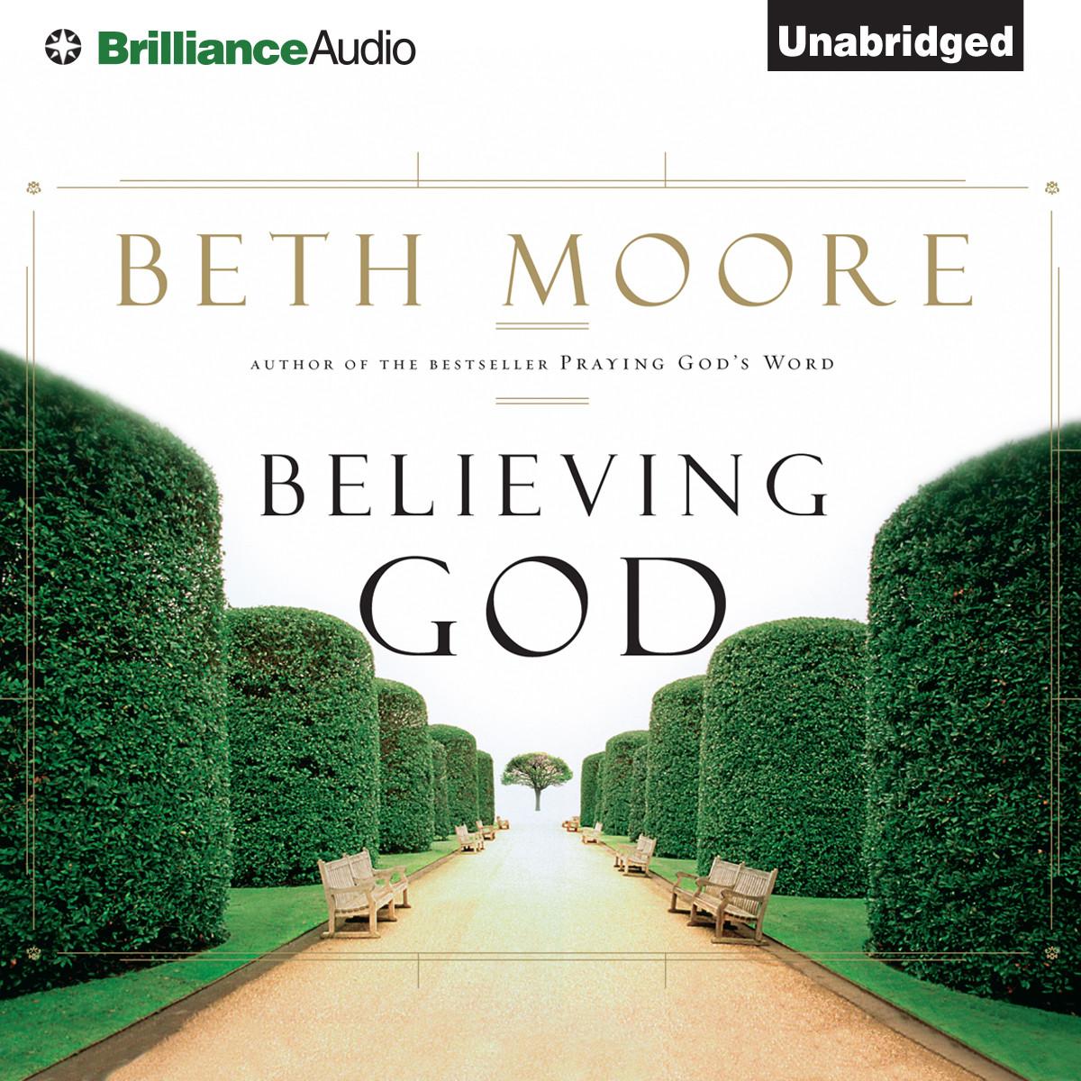 Printable Believing God Audiobook Cover Art