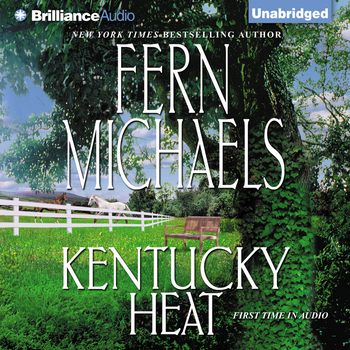 Printable Kentucky Heat Audiobook Cover Art